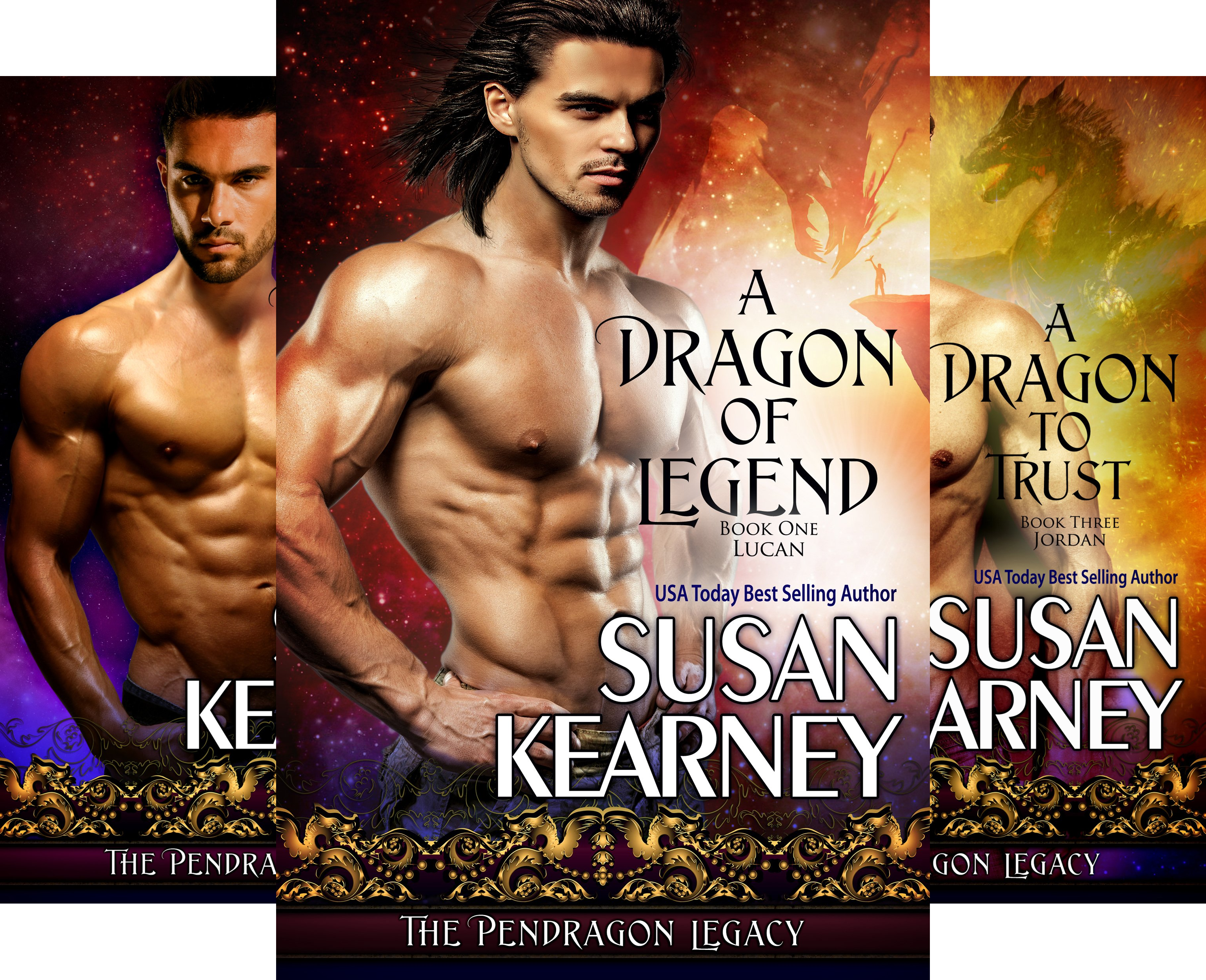The Pendragon Legacy (3 Book Series)