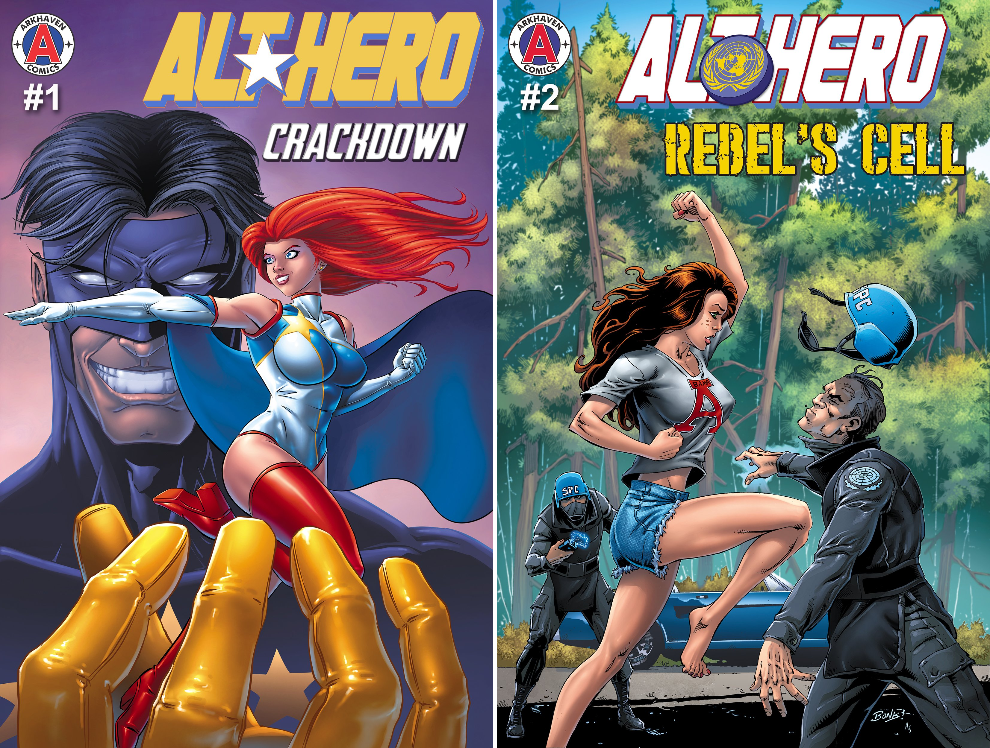 Book cover from Alt★Hero (2 Book Series) by Vox Day