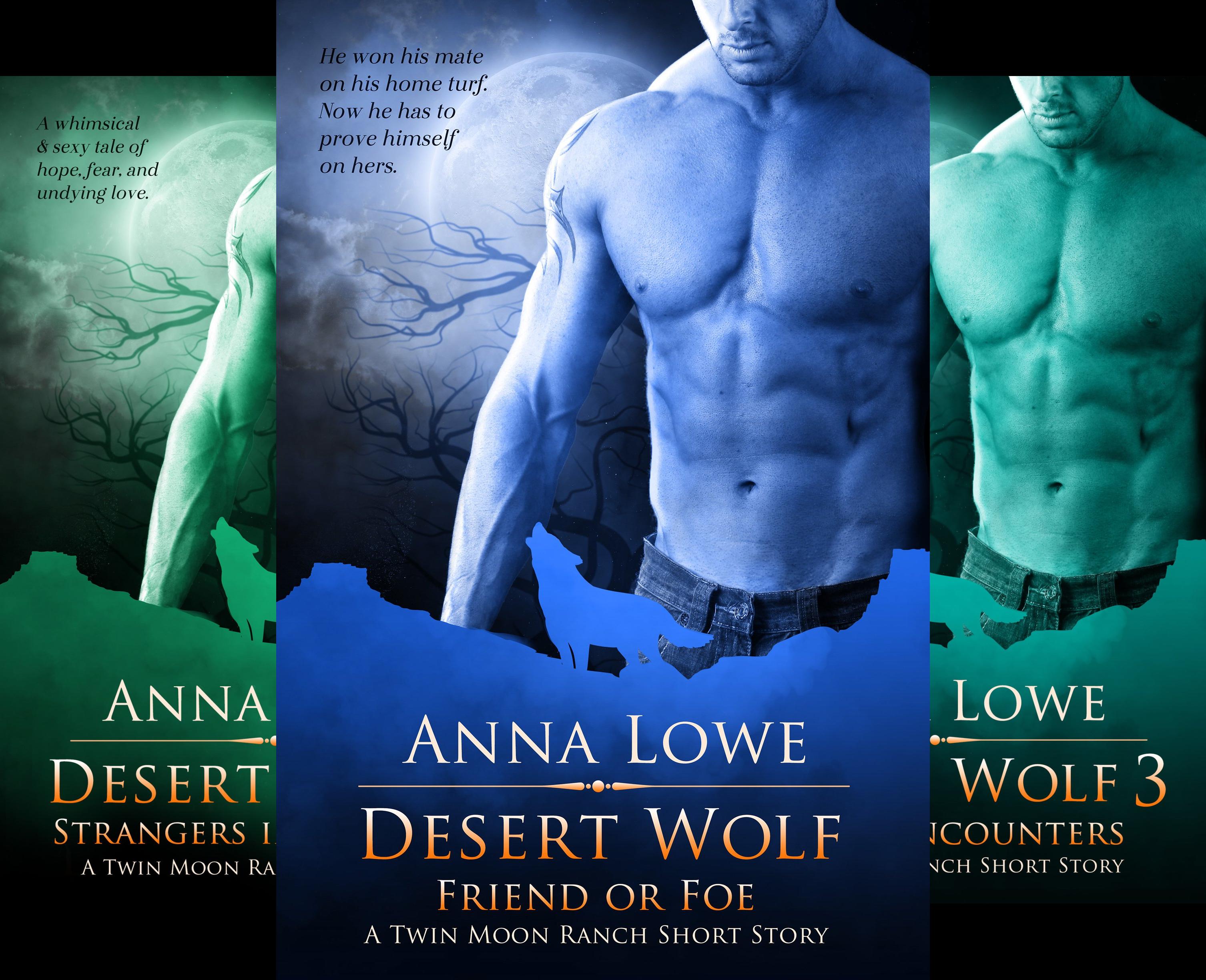 Twin Moon Ranch PNR short stories (3 Book Series)