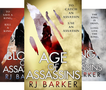 The Wounded Kingdom (3 Book Series) by RJ Barker, RJ Baker