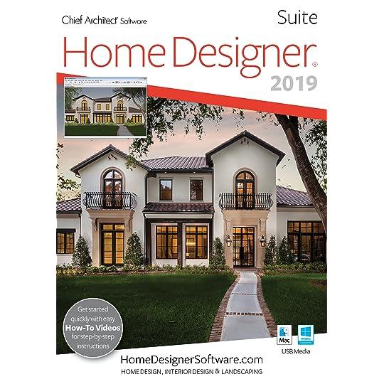 Home Designer Suite 2019 – Mac Download [Download]