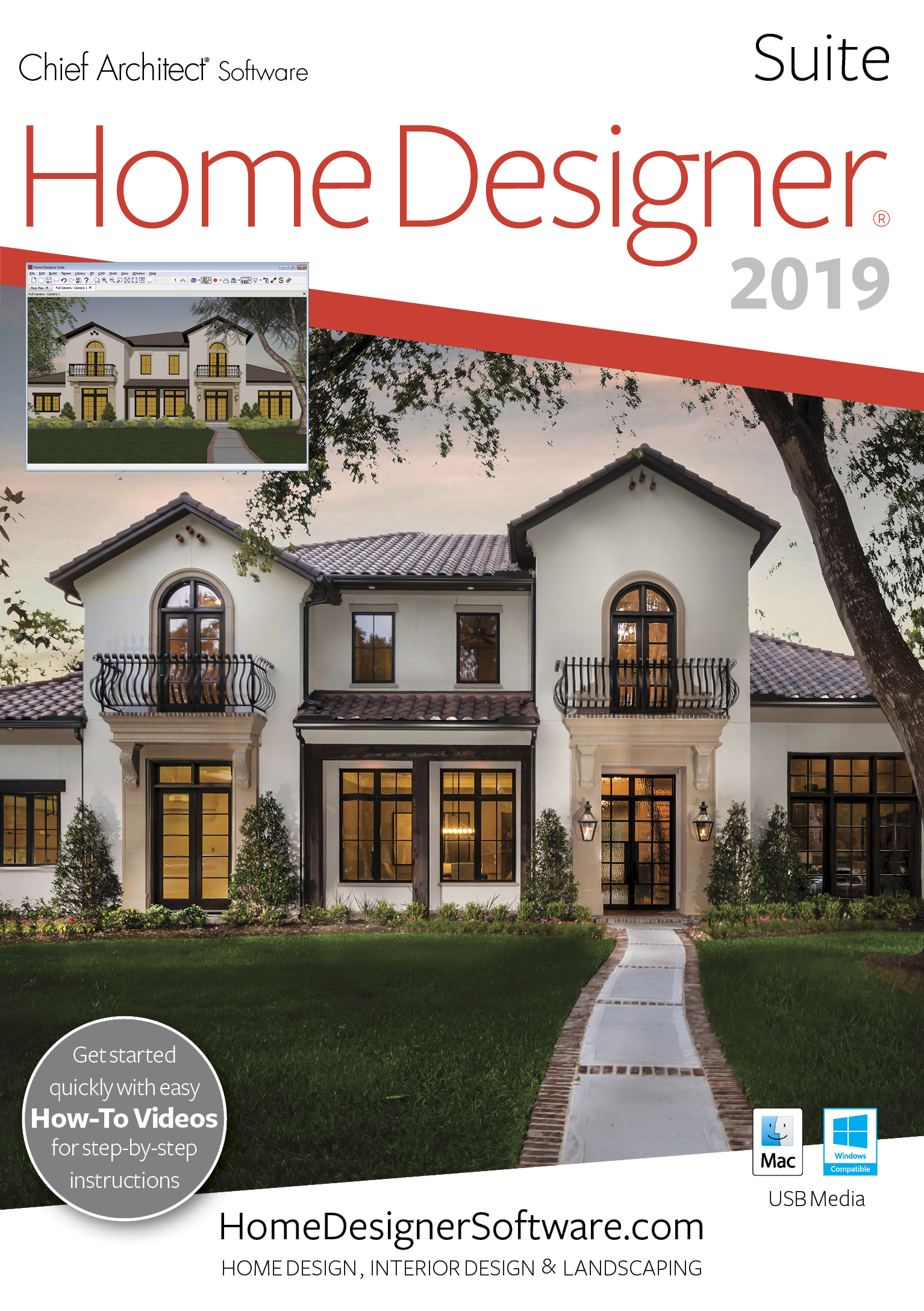 Home Designer Suite 2019 - PC Download [Download] (Remodeling Costs Patio)