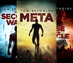 The Meta Superhero Novel Series (3 Book Series) by  Tom Reynolds