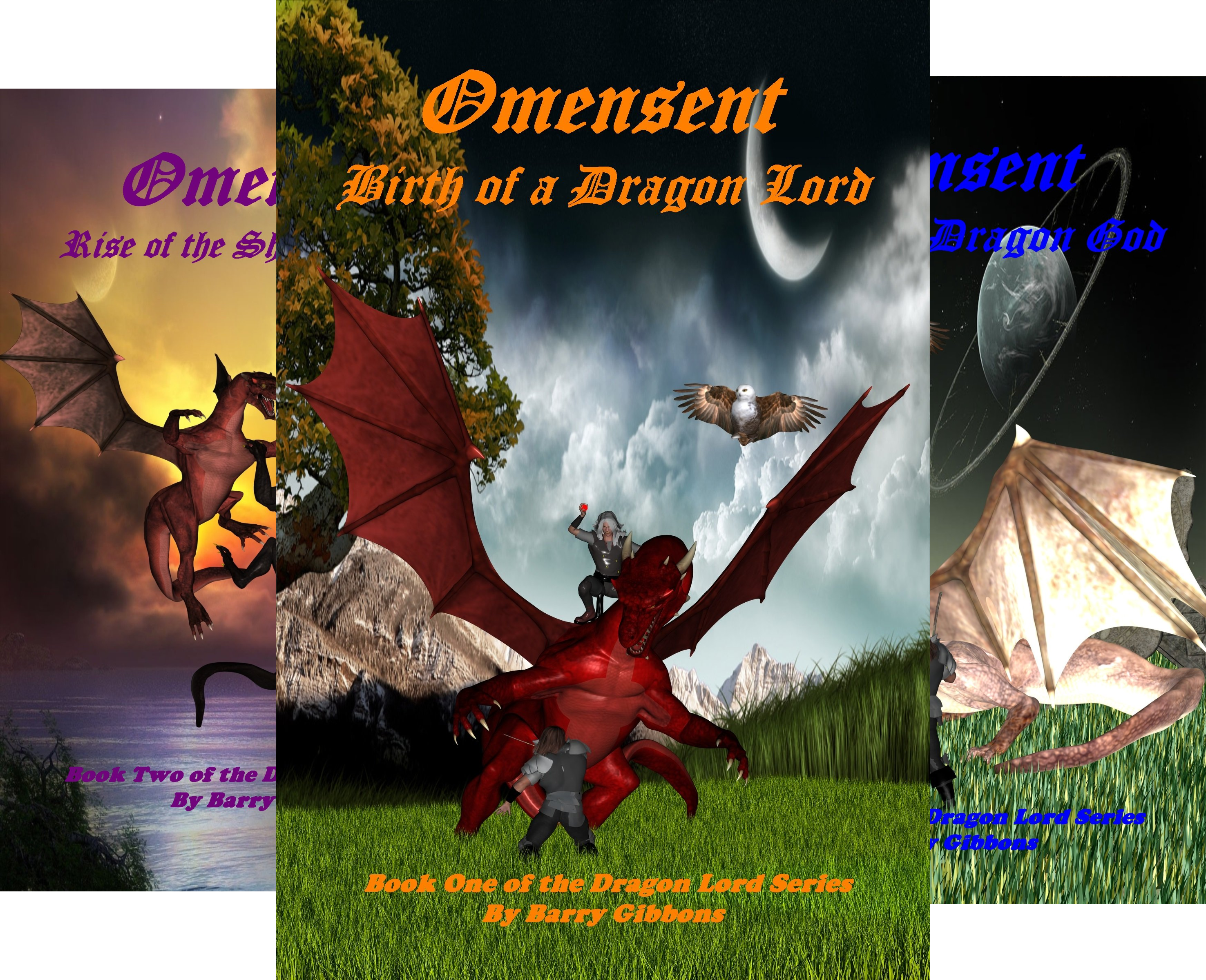 The Dragon Lord Series (6 Book Series)