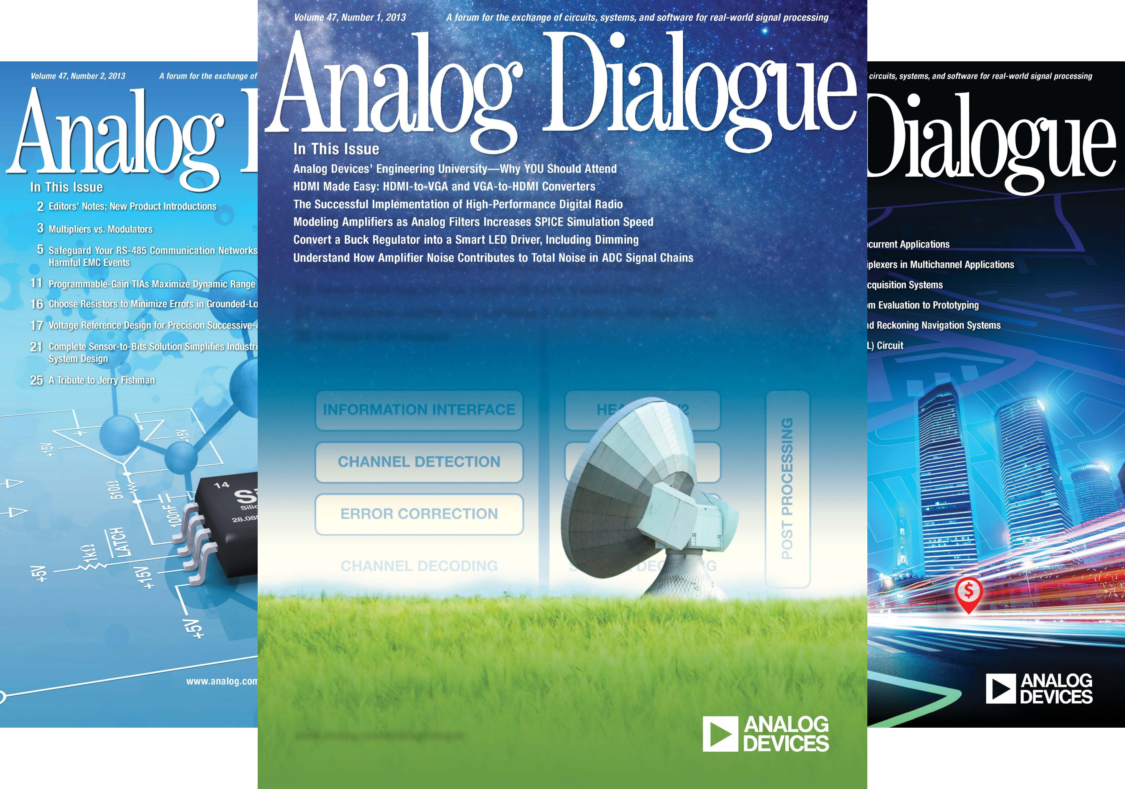 Analog Dialogue, Volume 47 (4 Book Series)