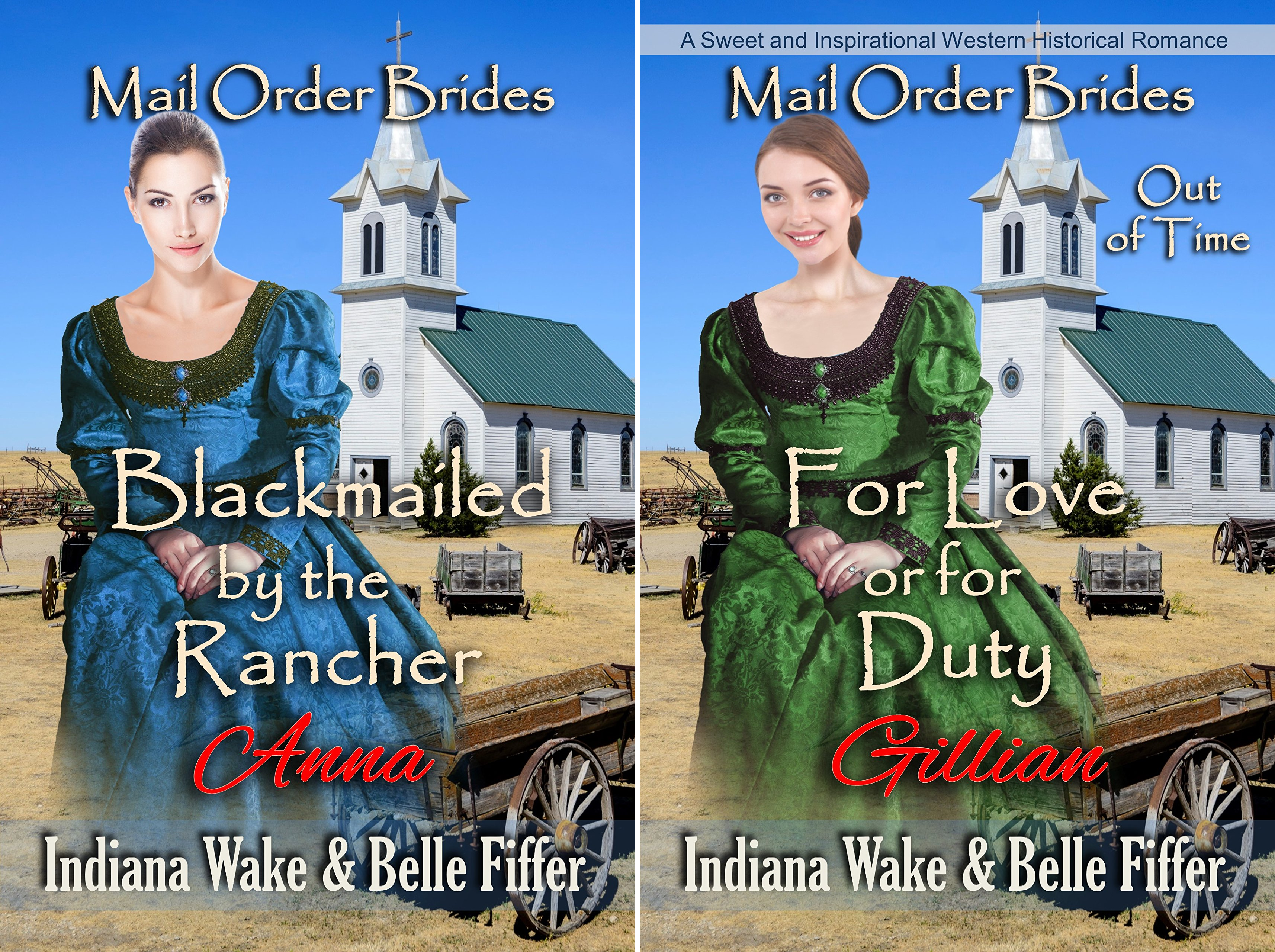 Mail Order Brides Out of Time (2 Book Series)