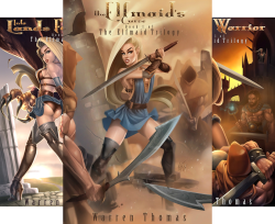 The Elfmaid Trilogy (3 Book Series) by  Warren Thomas