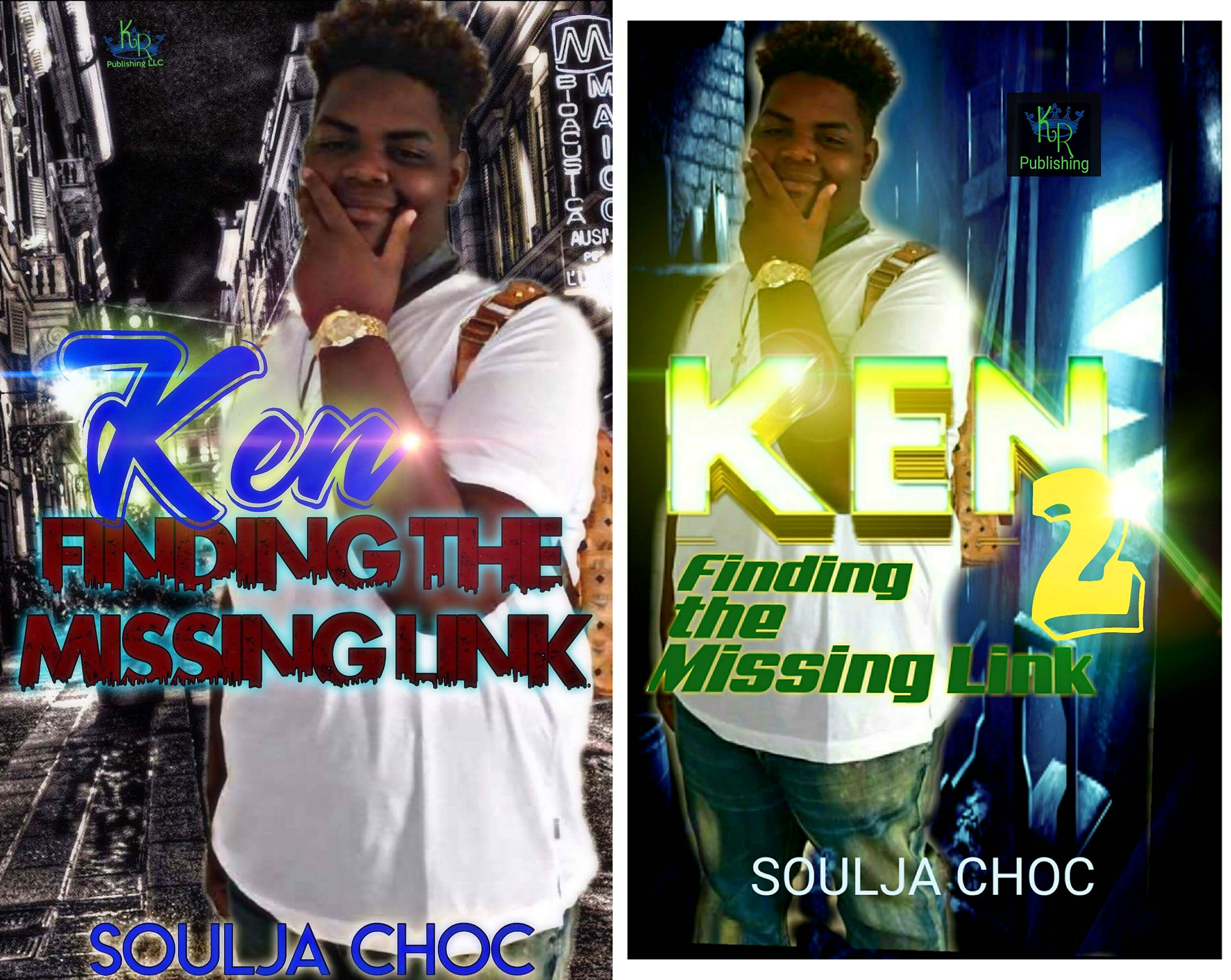 Finding the Missing Link (2 Book Series)