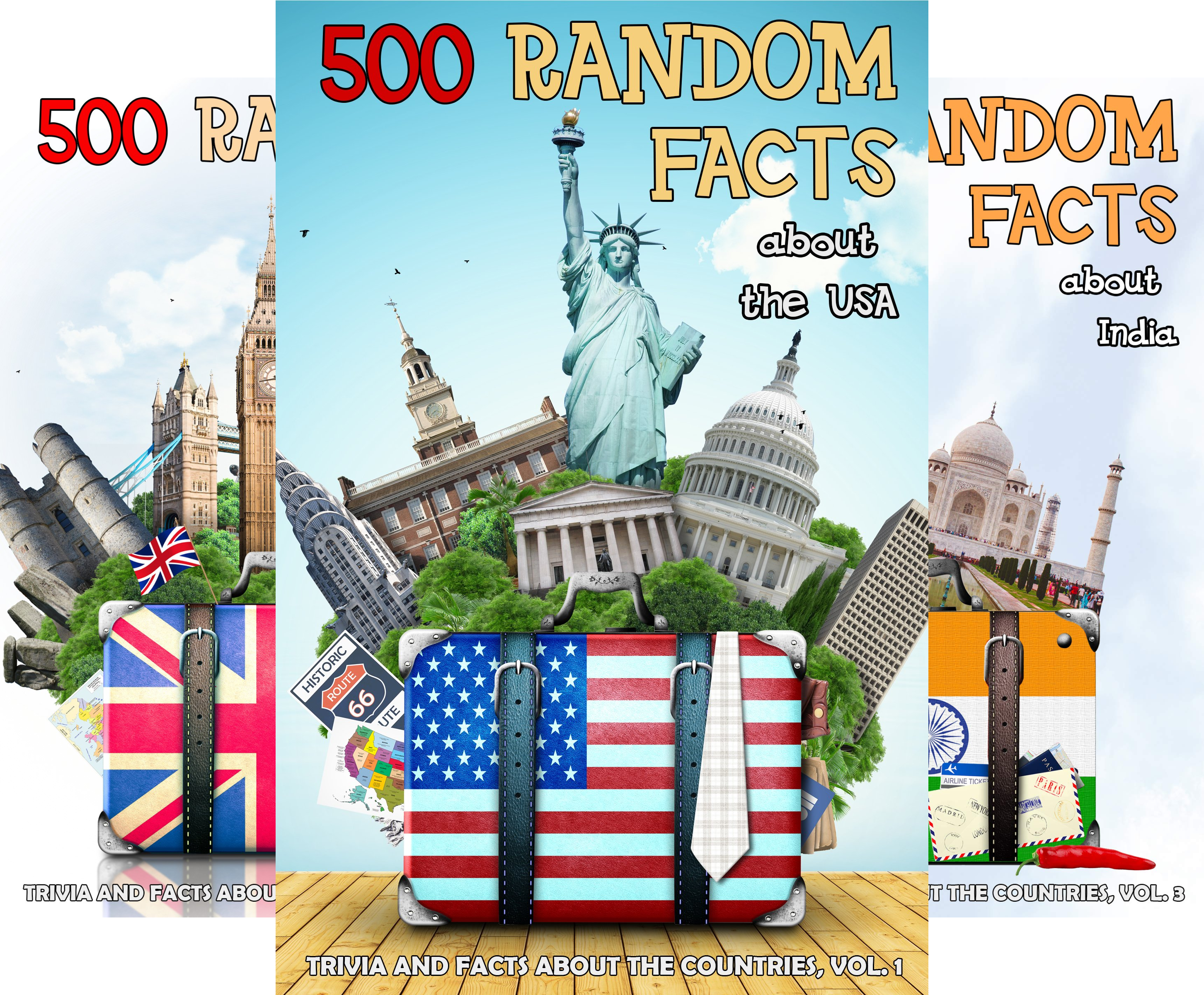 Trivia and Facts about the Countries (9 Book Series)
