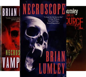 Necroscope (16 Book Series) by Brian Lumley horror book reviews