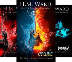 The Secret Life of Trystan Scott (5 Book Series) by  H.M. Ward