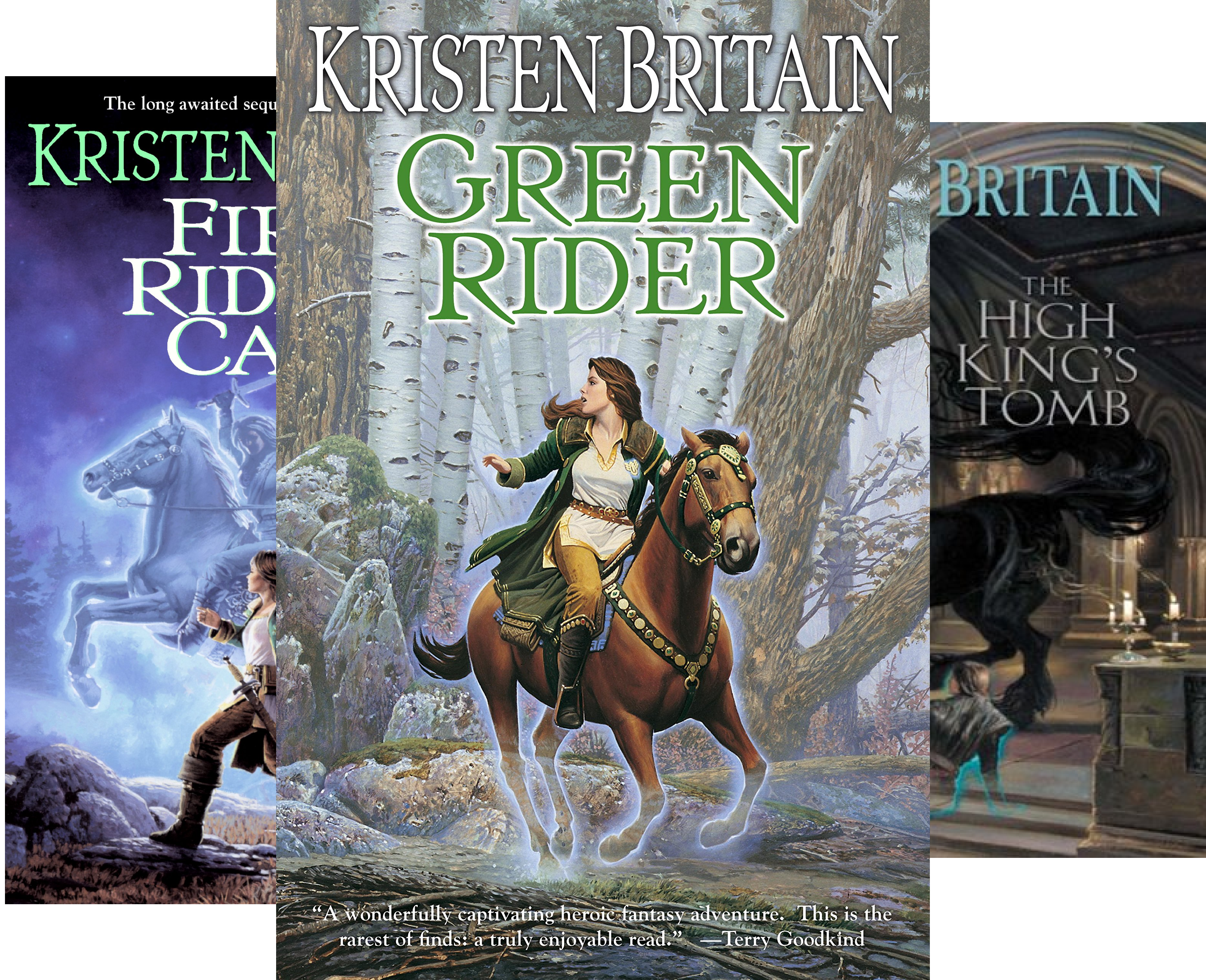 Green Rider Series - Green Rider (6 Book Series)