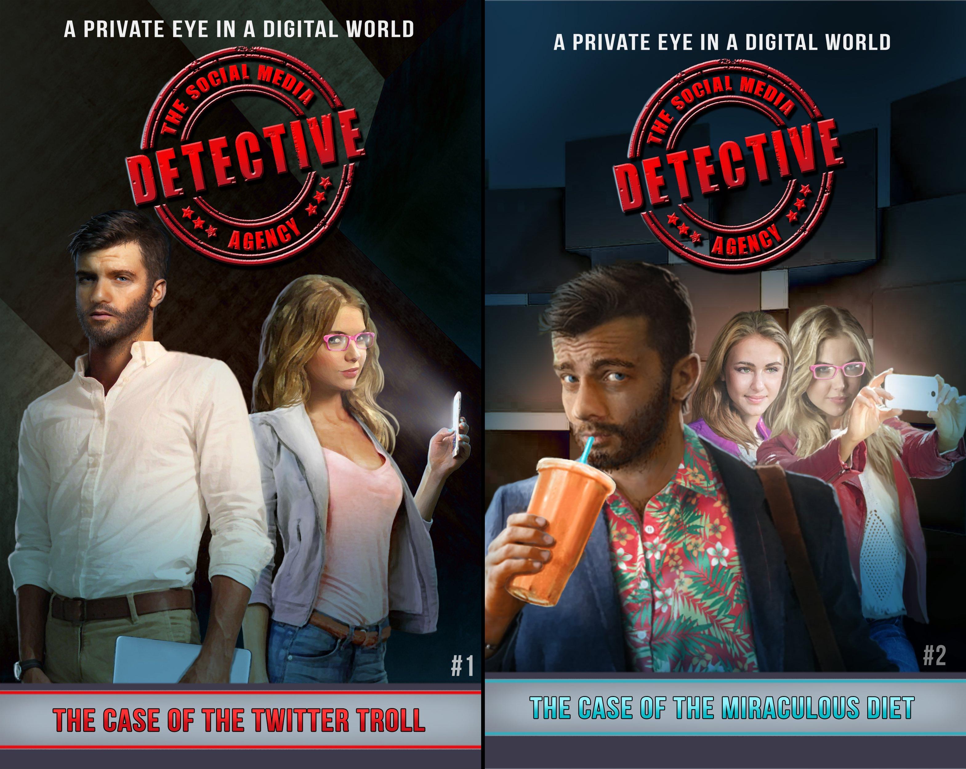 The Social Media Detective Agency (2 Book Series)