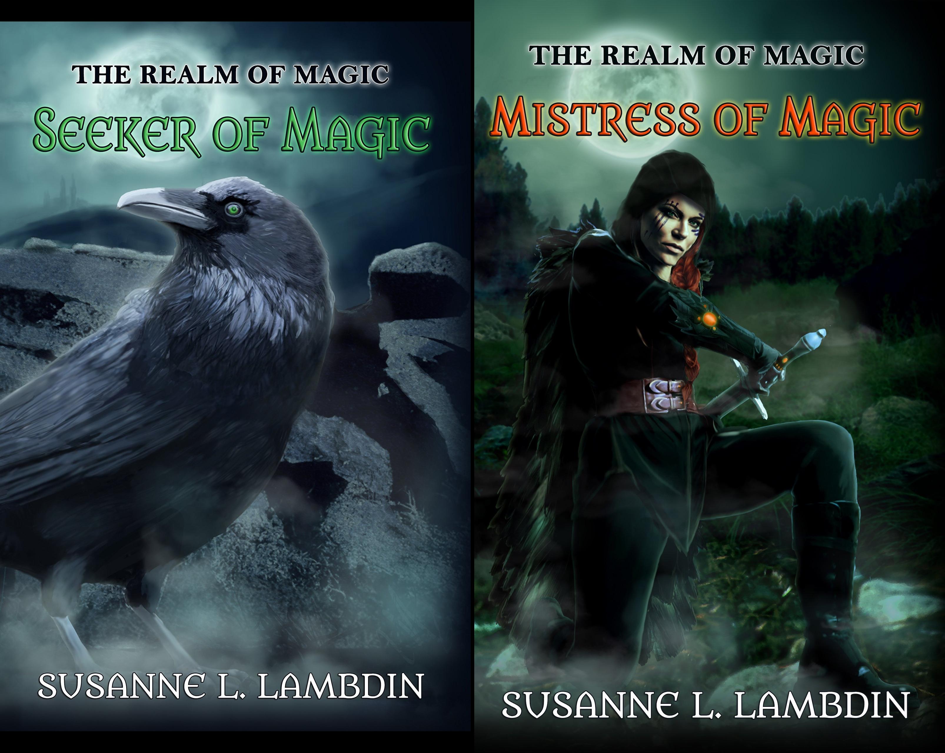 Realm of Magic (2 Book Series)
