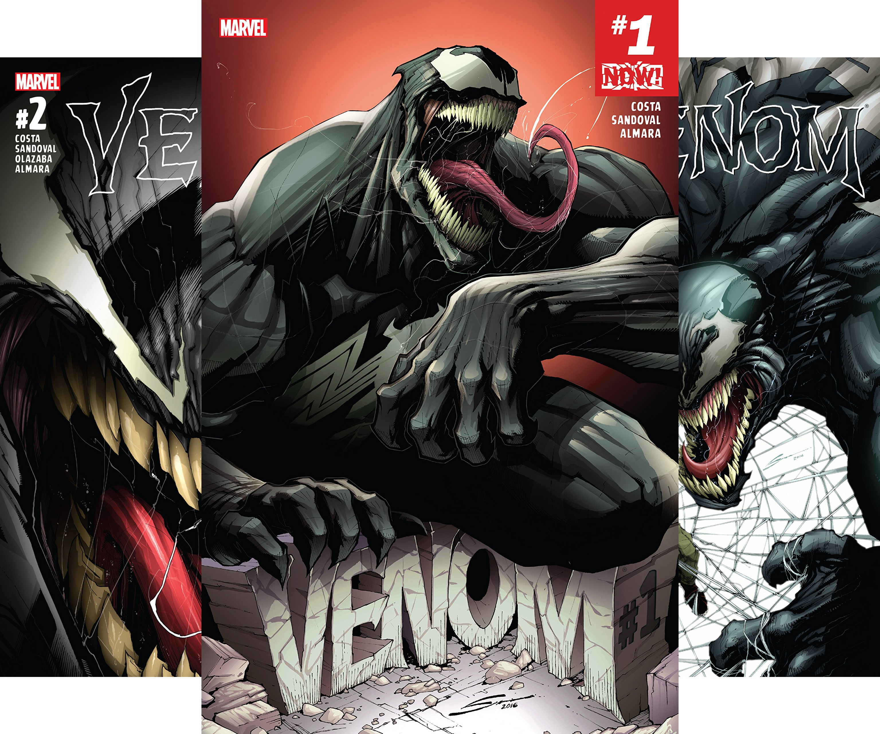 Venom (2016-) (Issues) (6 Book Series)