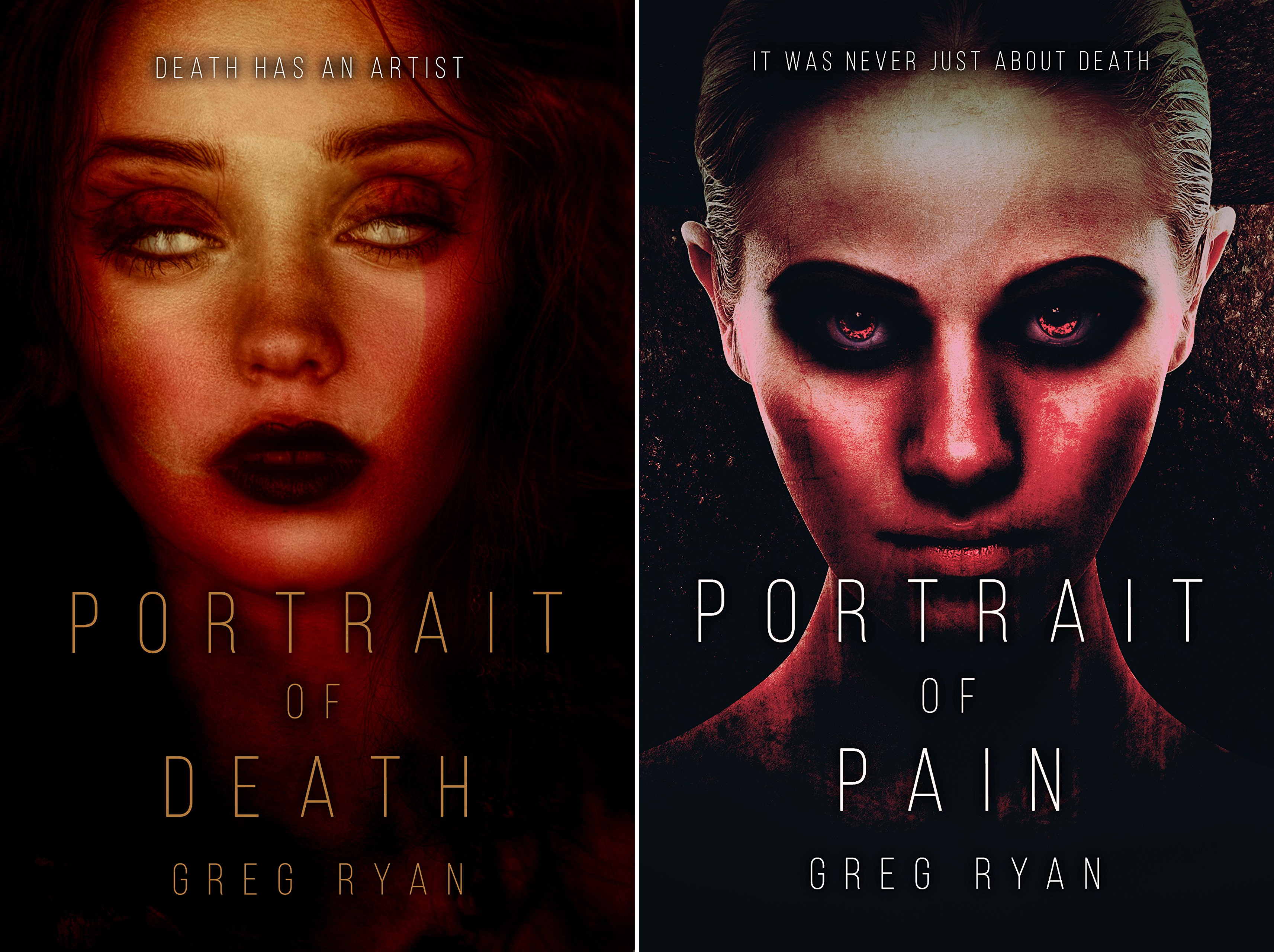 Portrait of Death (2 Book Series)