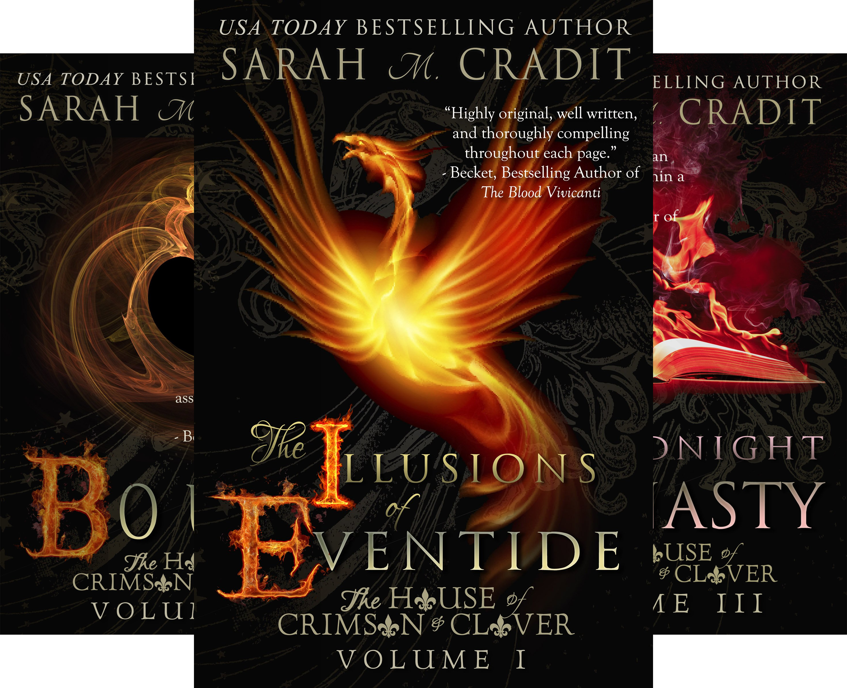 House of Crimson and Clover (9 Book Series)