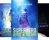 Superhero Detective Series (4 Book Series)