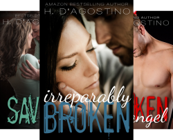 The Broken Series (4 Book Series) by  Heather D'Agostino