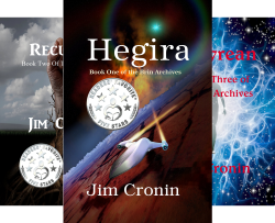 The Brin Archives (3 Book Series) by  Jim Cronin