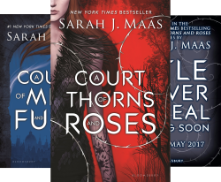 A Court of Thorns and Roses (3 Book Series) by  Sarah J. Maas