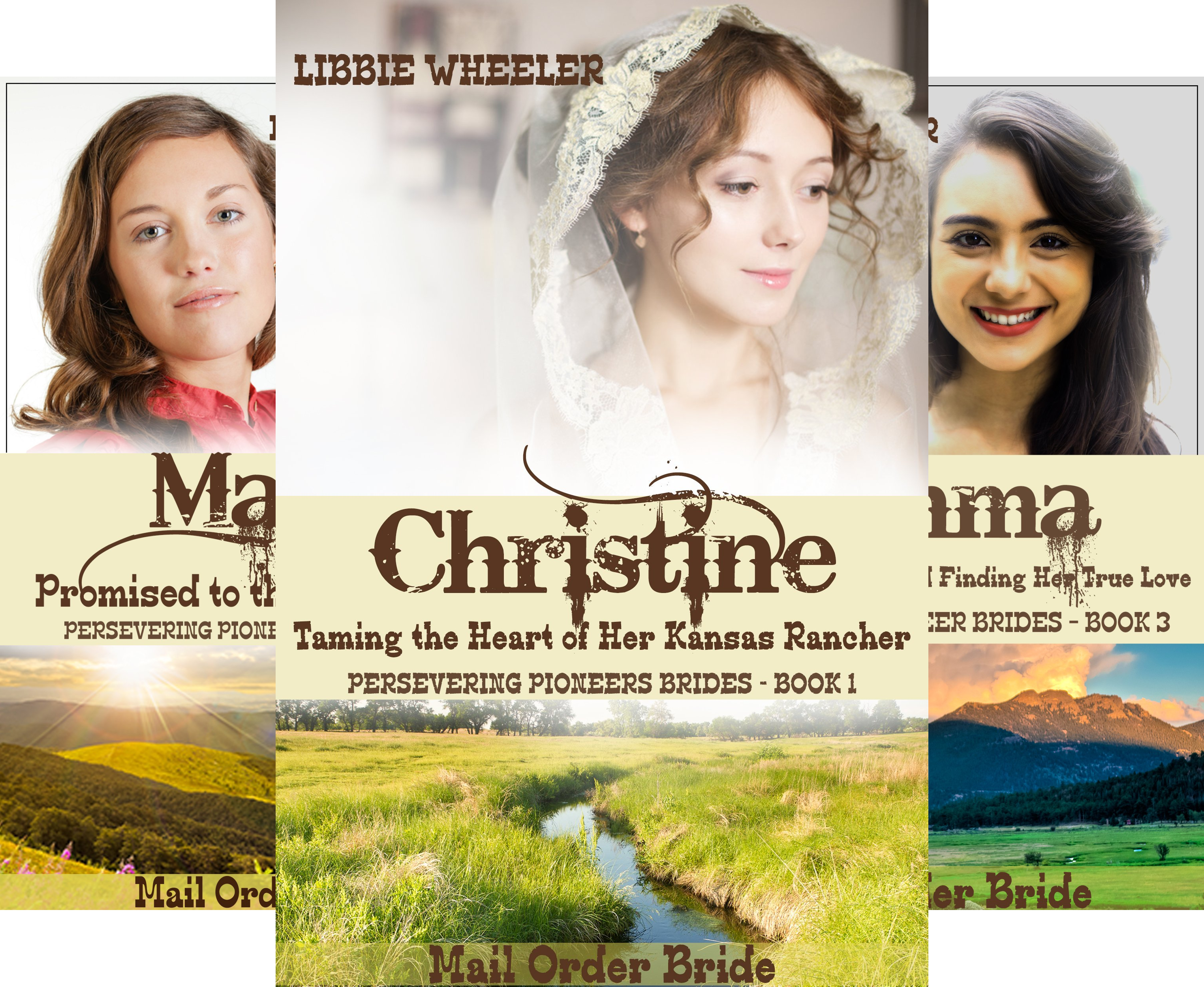 Persevering Pioneer Brides (6 Book Series)