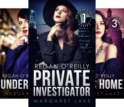 Regan O'Reilly (4 Book Series) by  Margaret Lake