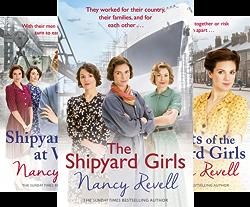 The Shipyard Girls Series (6 Book Series) by  Nancy Revell