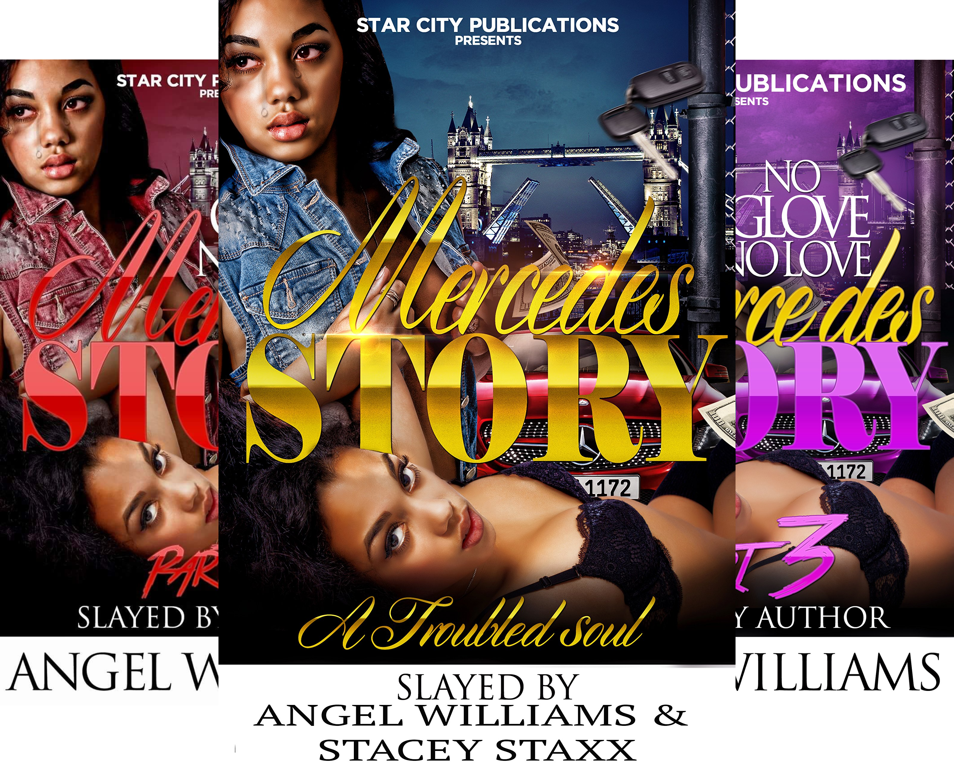 The Mercedes Story (3 Book Series)