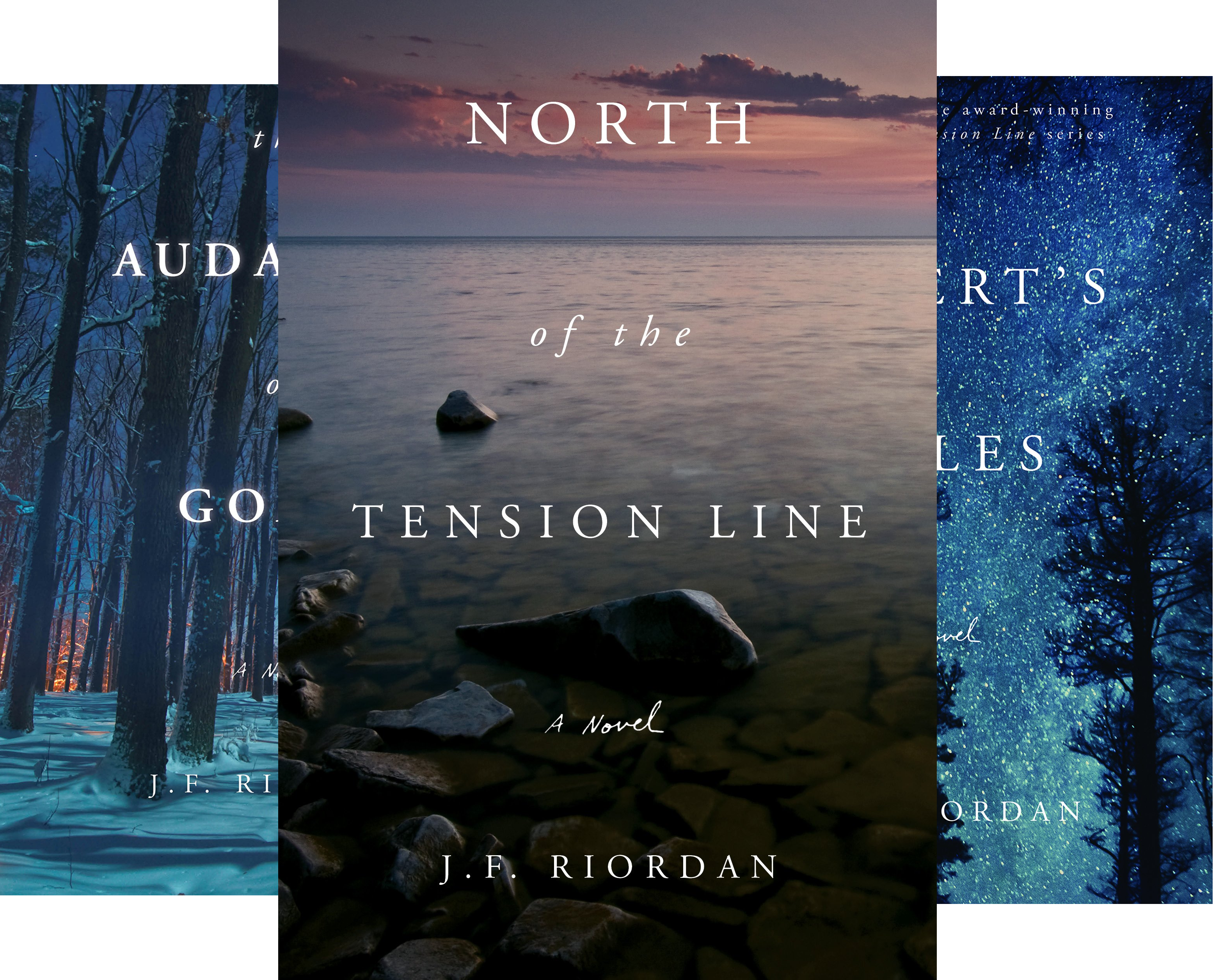 North of the Tension Line (4 Book Series)