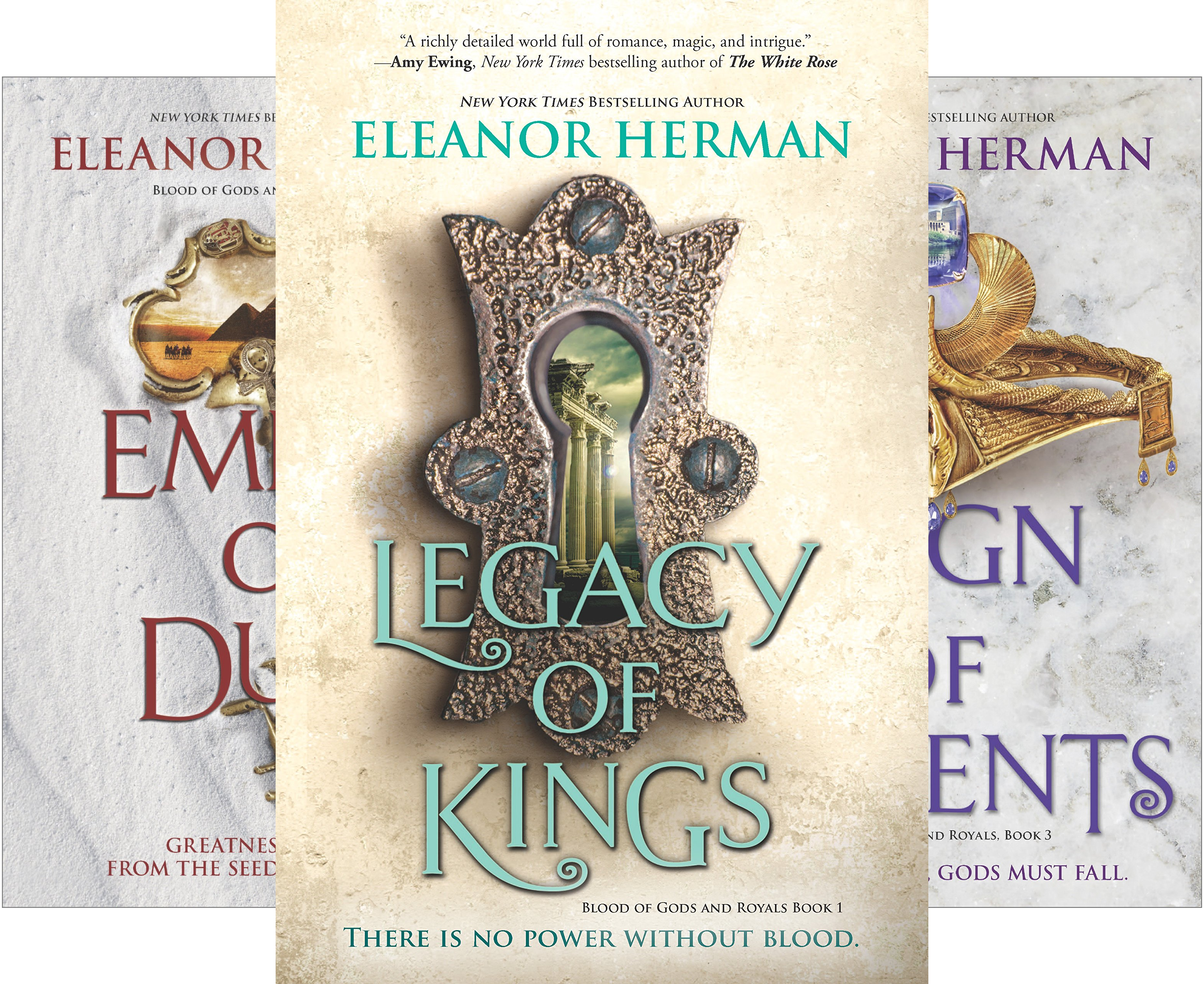 Blood of Gods and Royals (4 Book Series)