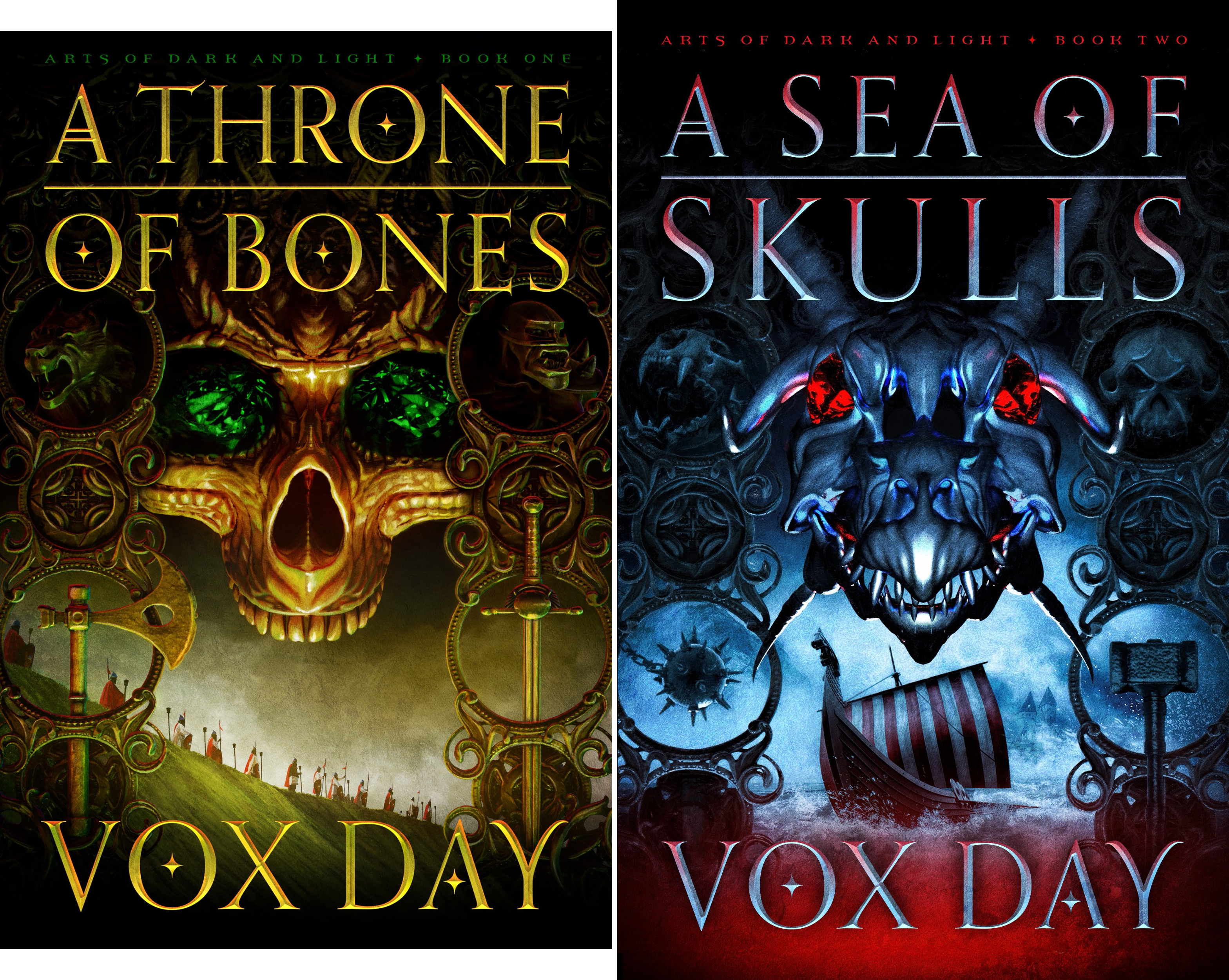 Book cover from Arts of Dark and Light (2 Book Series) by Vox Day