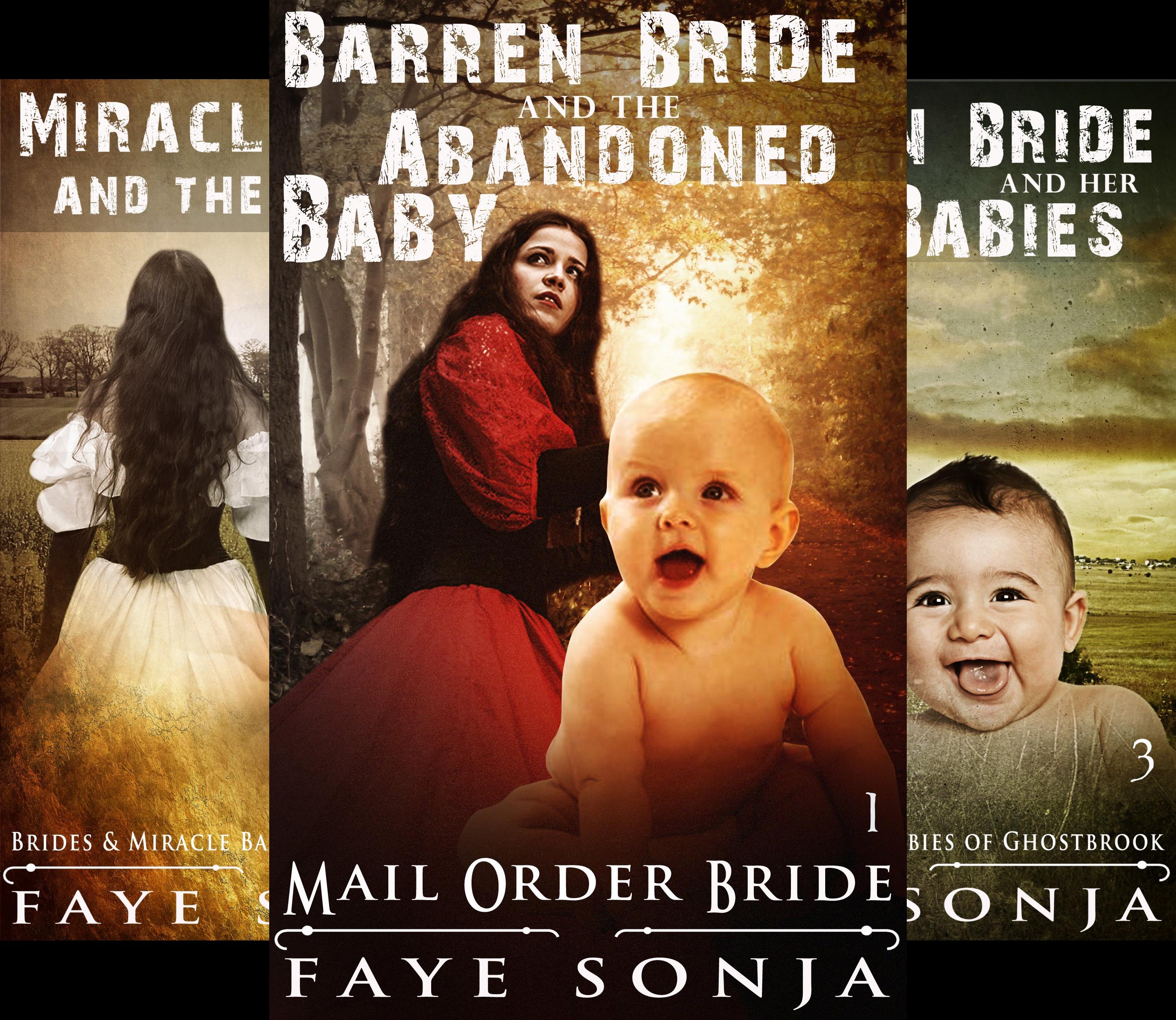 Brides & Miracle Babies of Ghostbrook (3 Book Series)