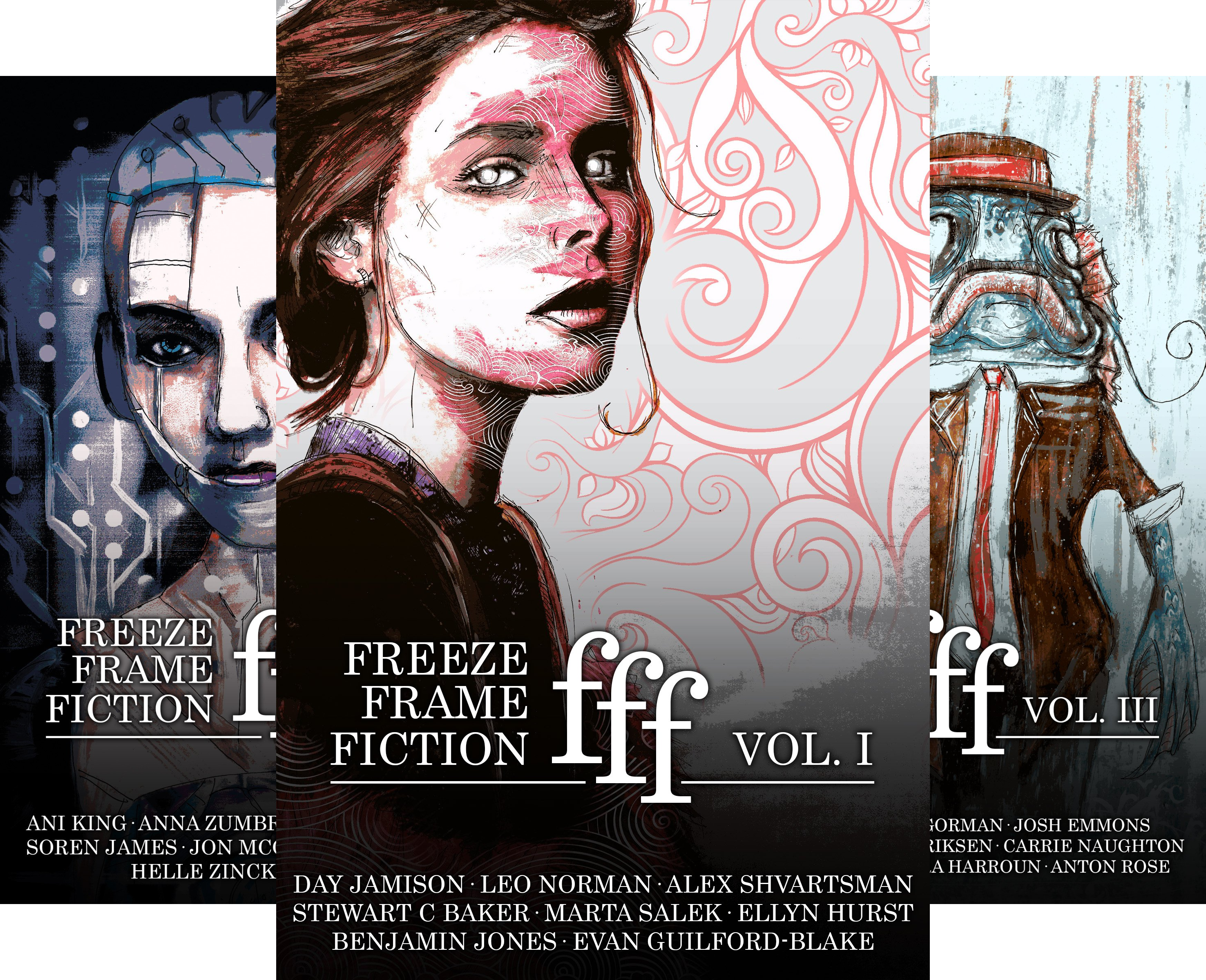 Freeze Frame Fiction (4 Book Series)