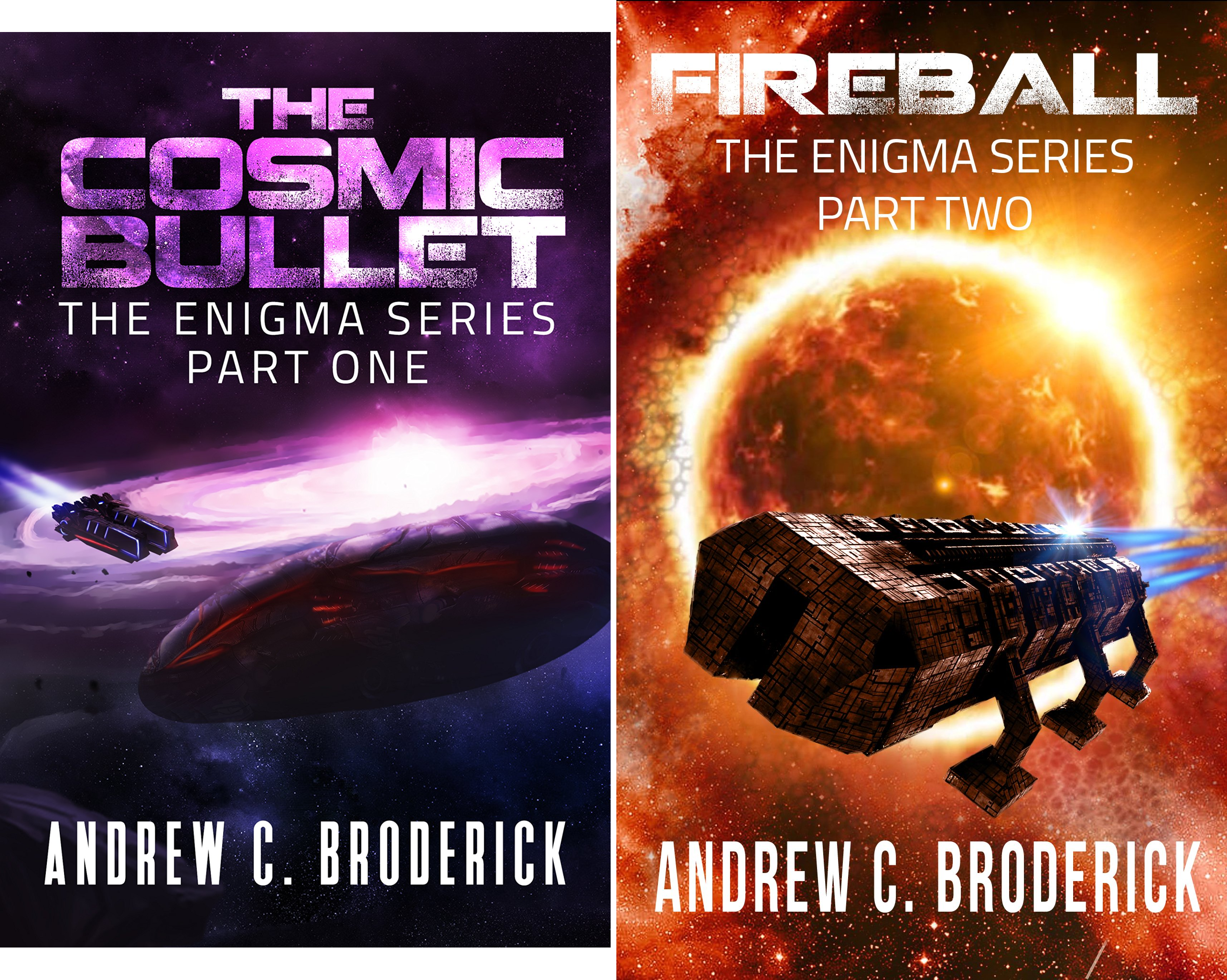 The Enigma Series (2 Book Series)