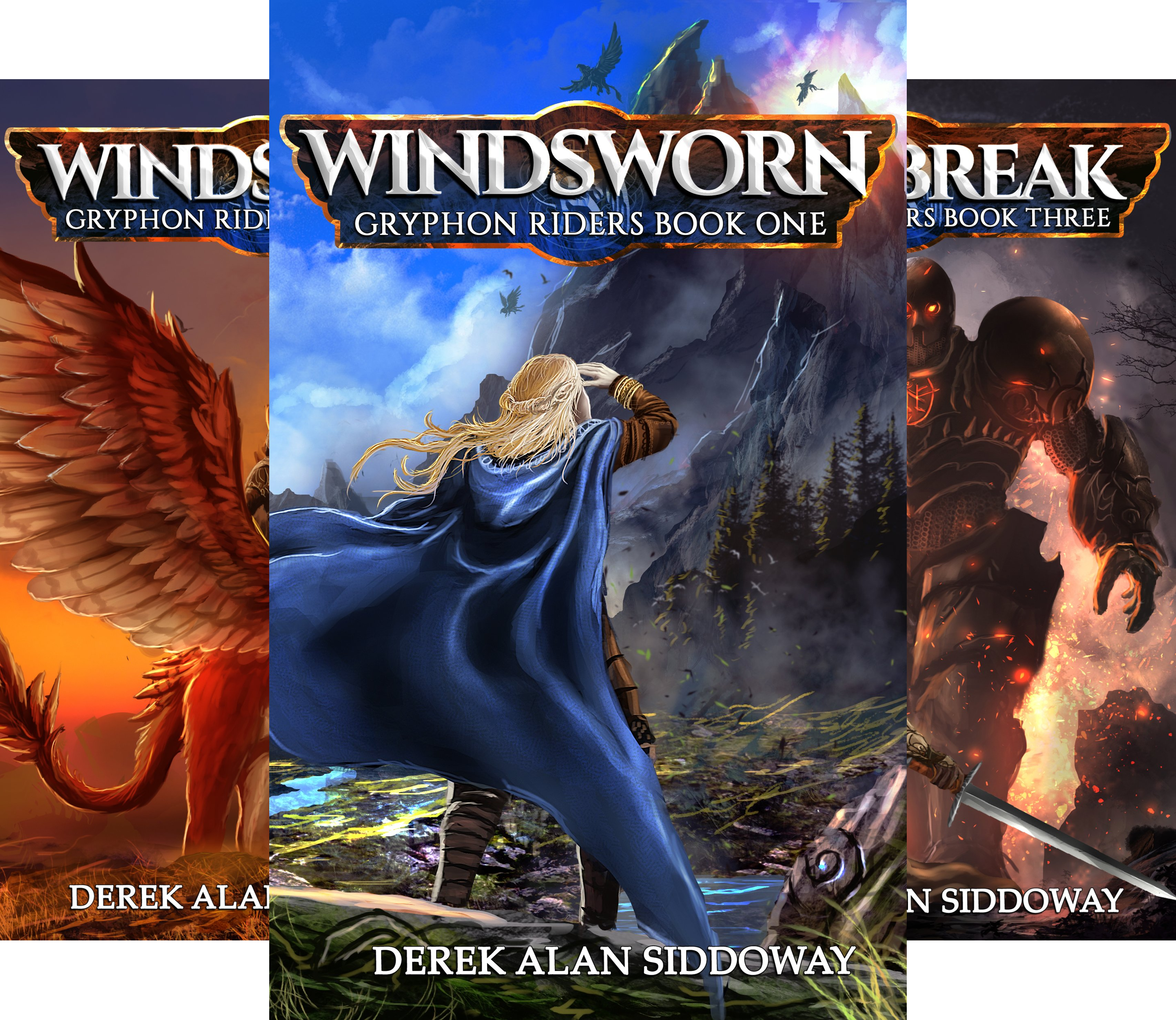 Gryphon Riders Trilogy (3 Book Series)