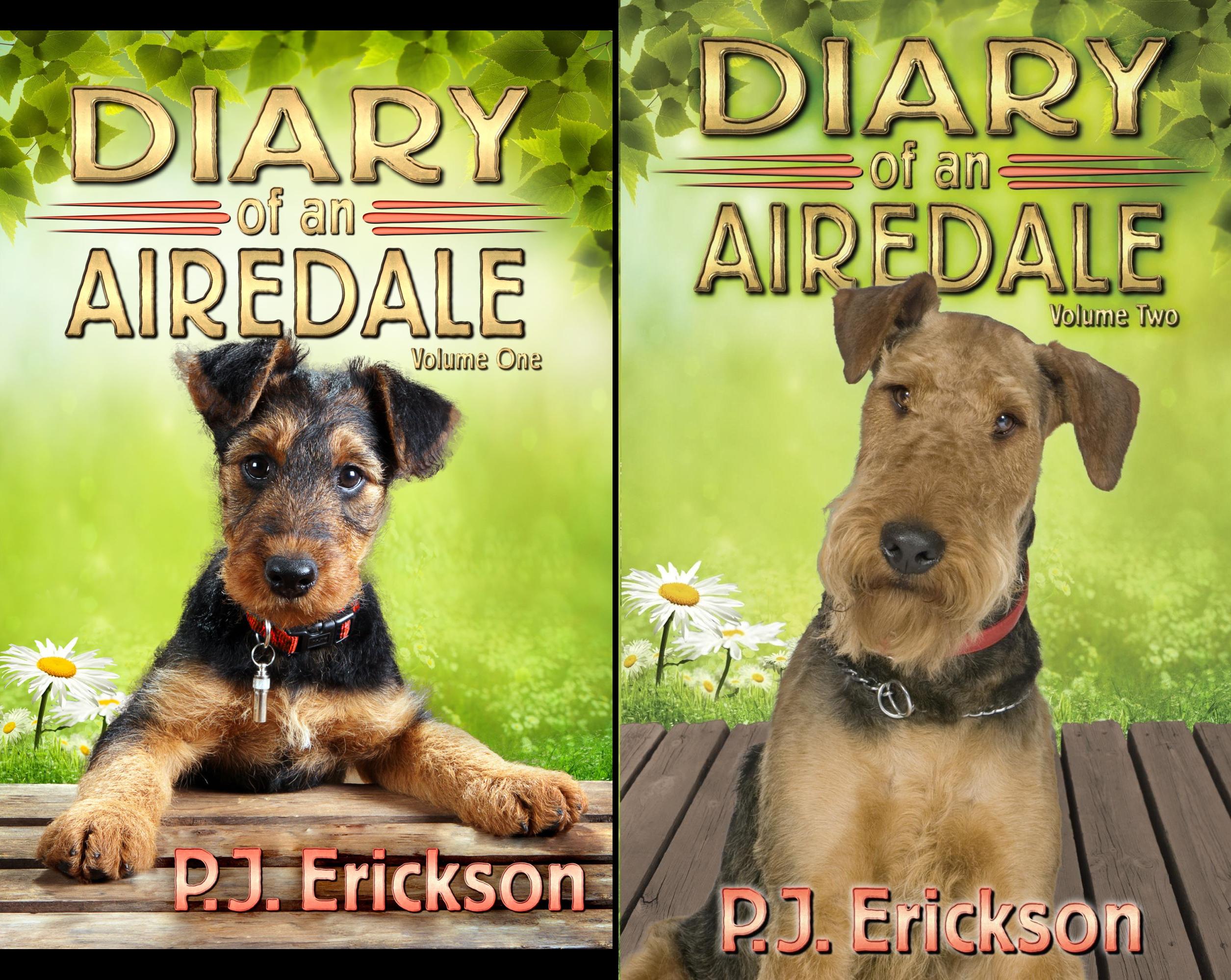 Airedale Diaries (2 Book Series)