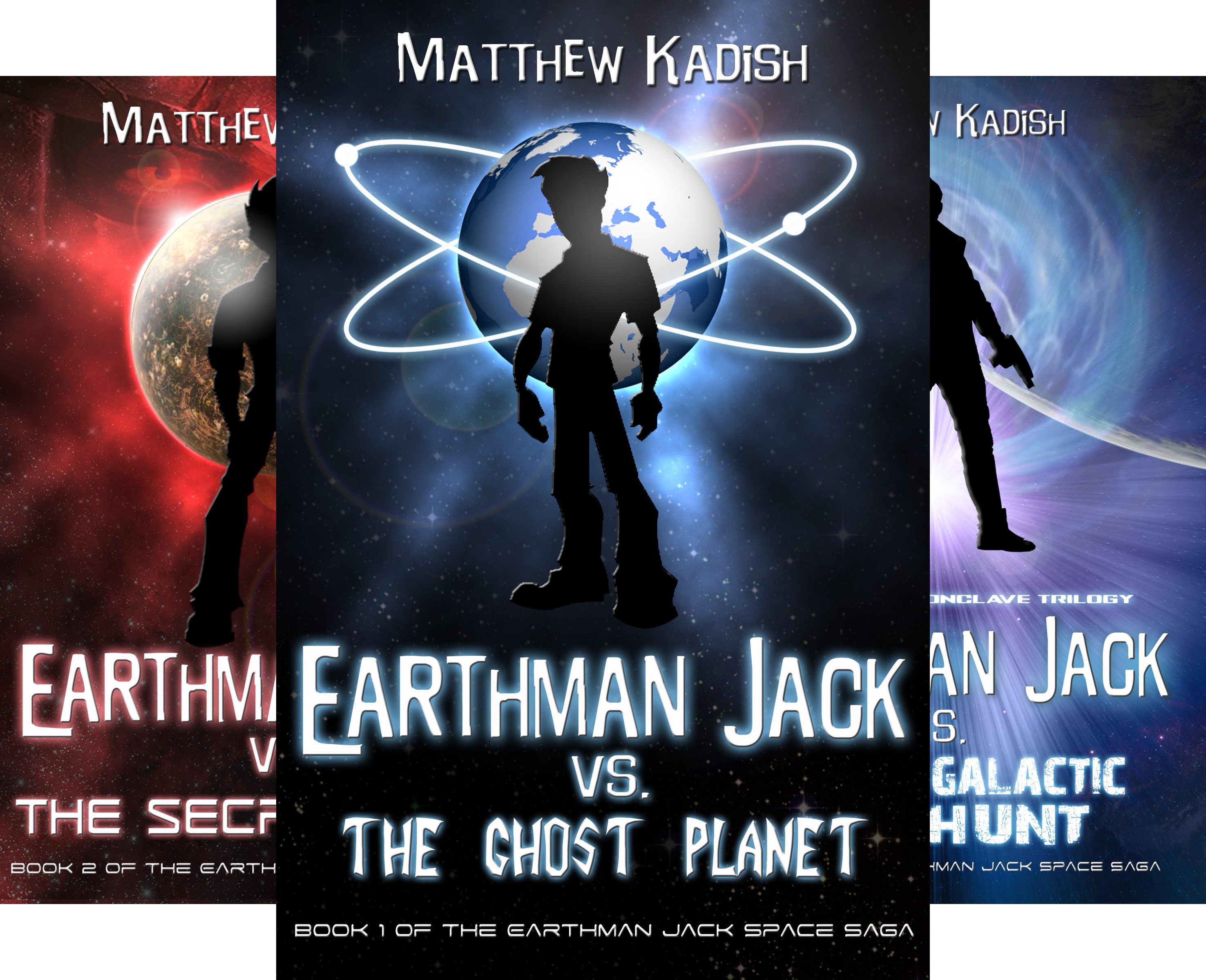 Earthman Jack Space Saga (5 Book Series)