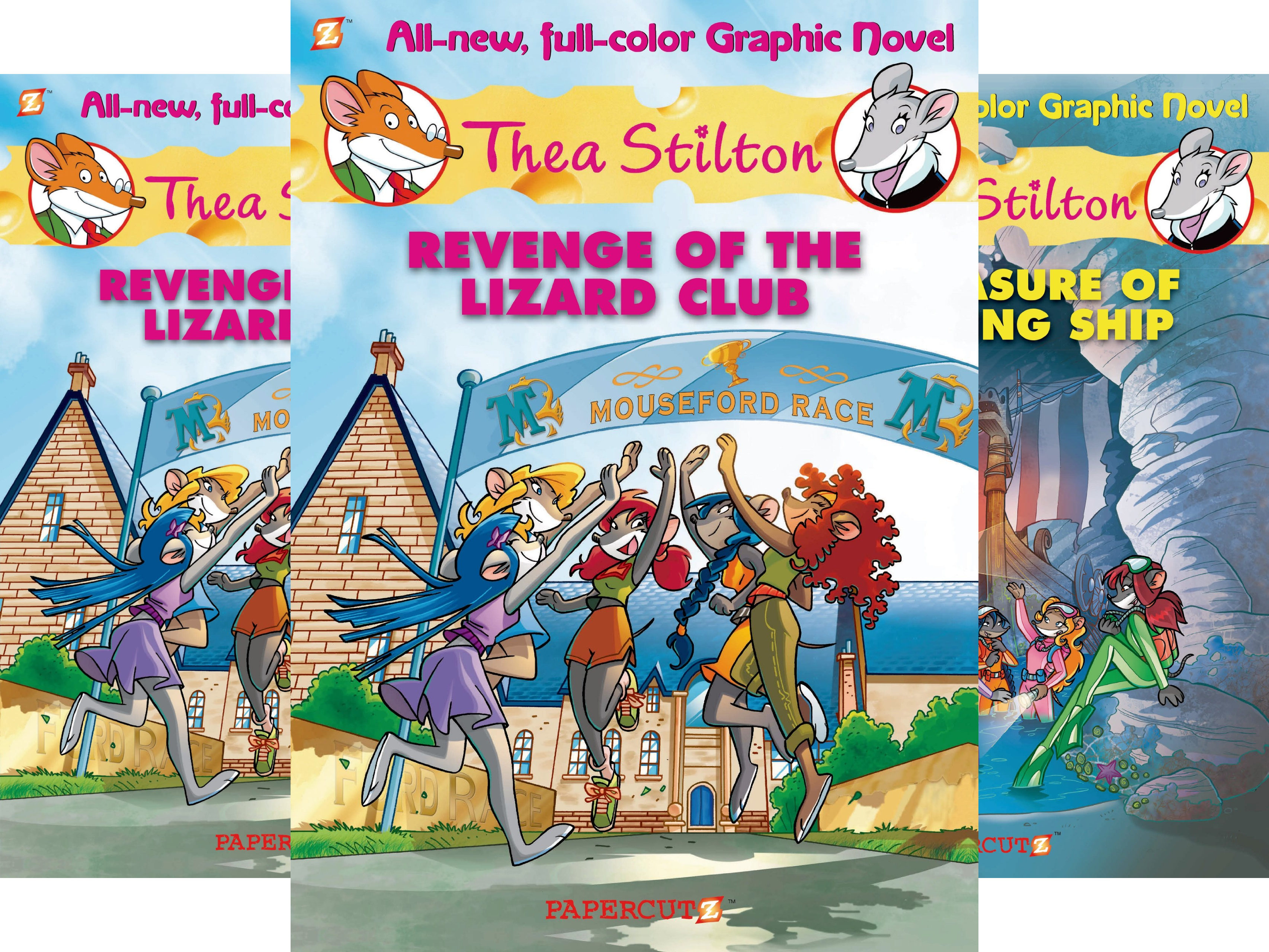 Thea Stilton Graphic Novels (7 Book Series)