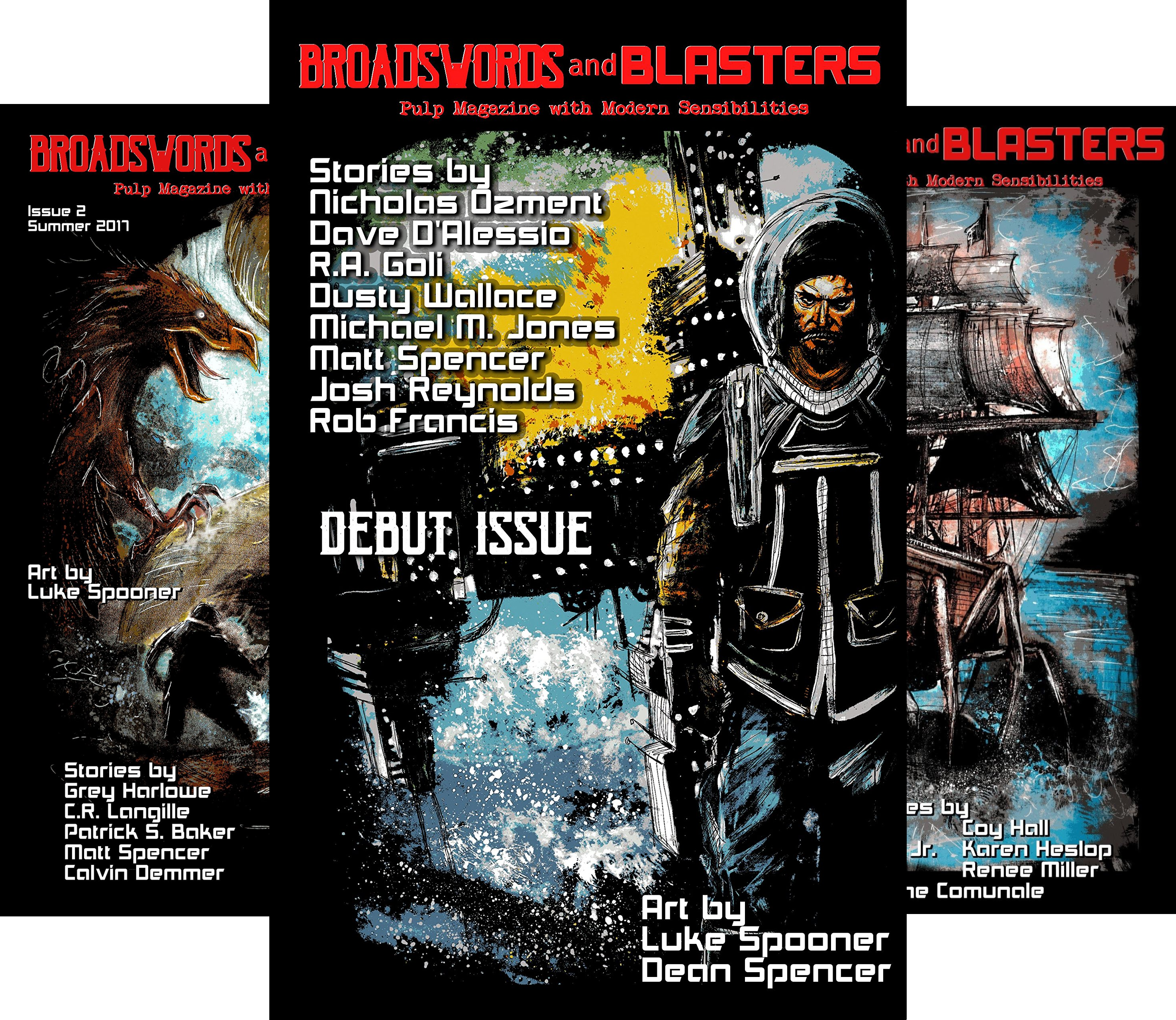 Broadswords and Blasters Issue (4 Book Series)