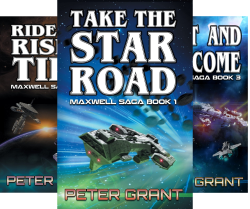The Maxwell Saga (5 Book Series) by  Peter Grant
