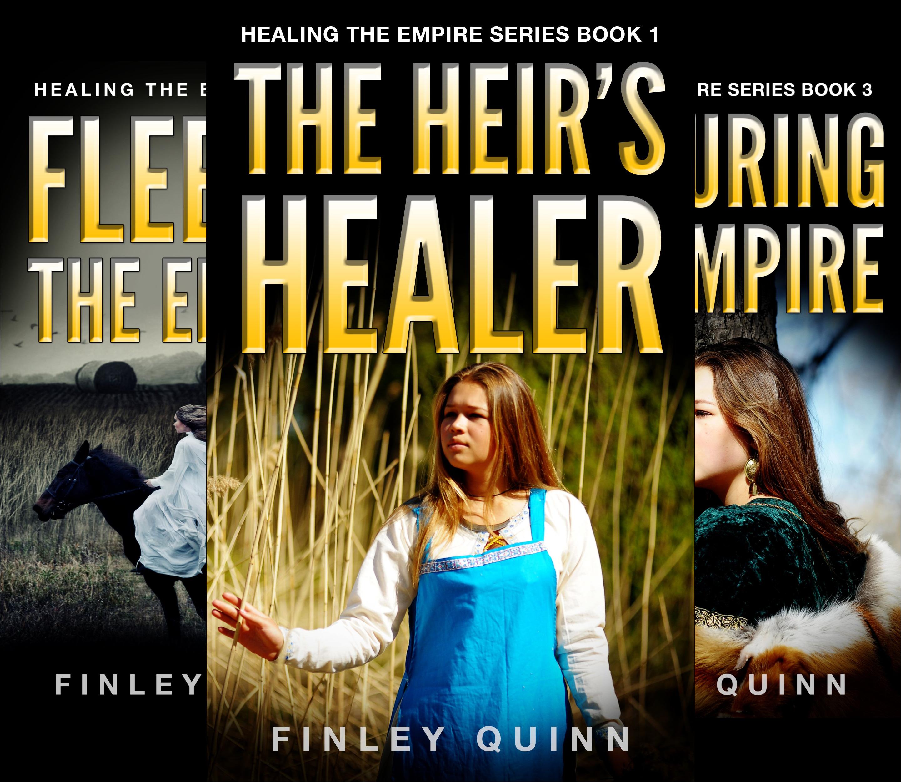 Healing the Empire: YA Paranormal Romance (3 Book Series)