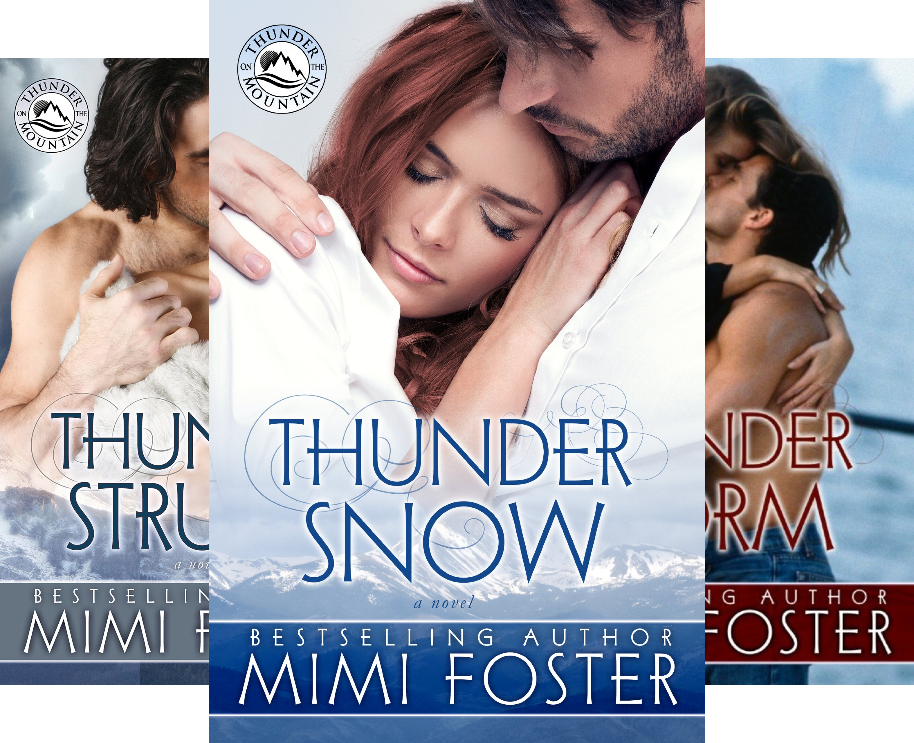 Thunder on the Mountain Series (3 Book Series)