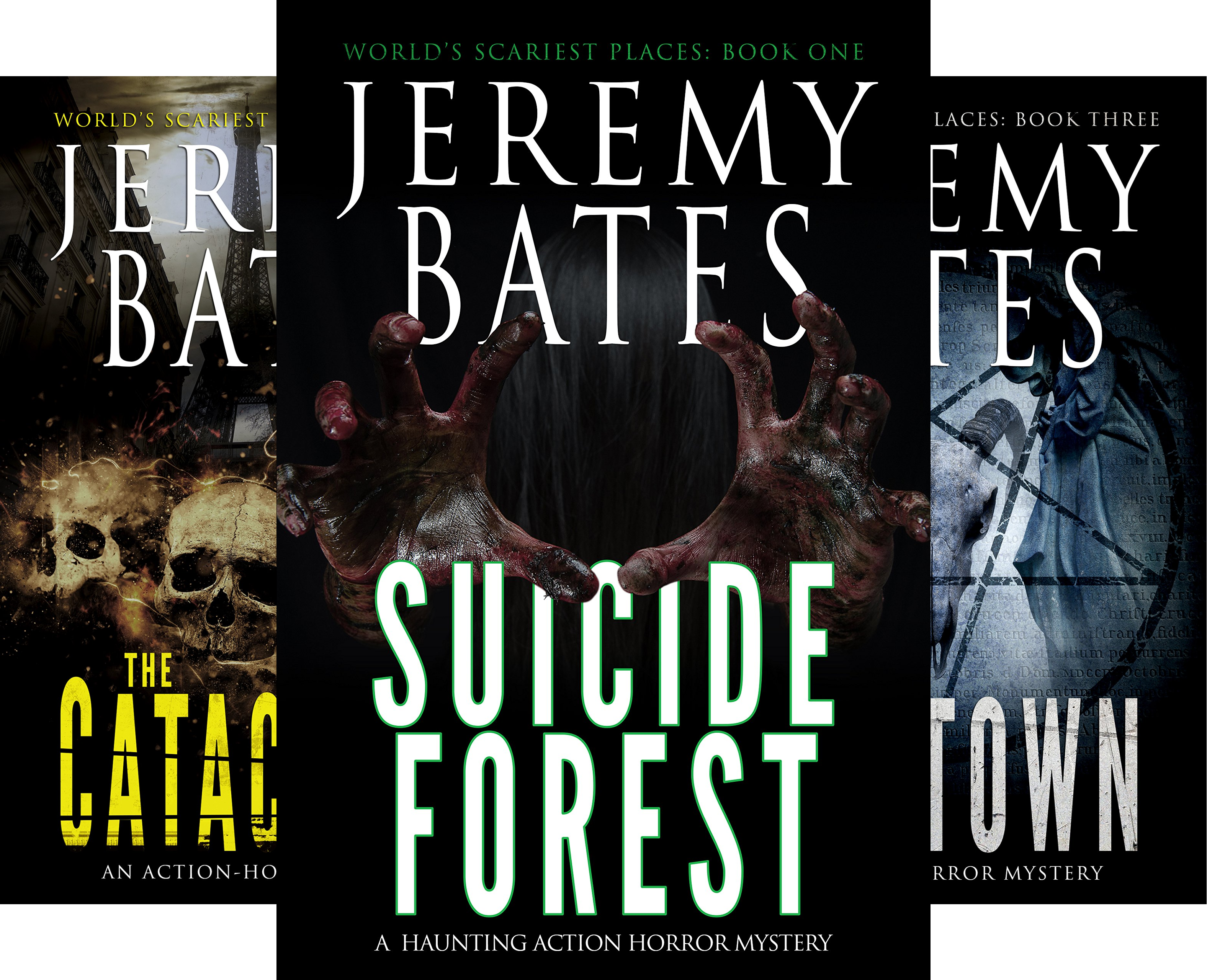 World's Scariest Places (5 Book Series)