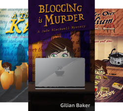 Jade Blackwell Cozy Mystery Series (3 Book Series) by  Gilian Baker