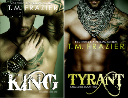 KING (2 Book Series) by  T.M. Frazier