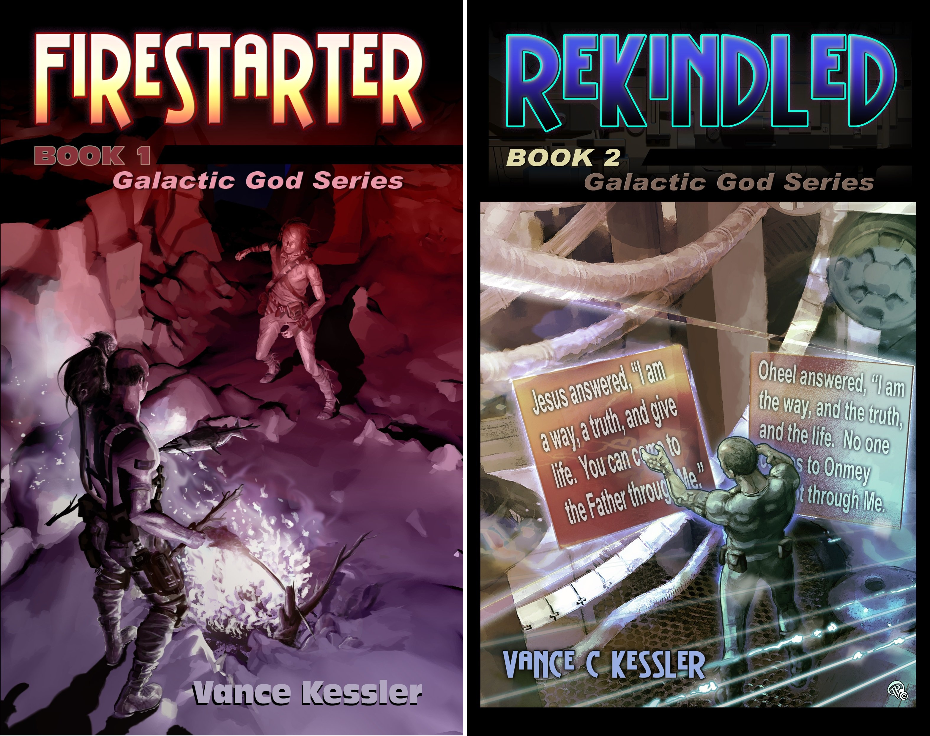 Galactic God Series (2 Book Series)