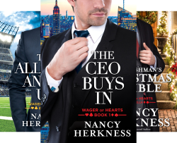Wager of Hearts (4 Book Series) by  Nancy Herkness