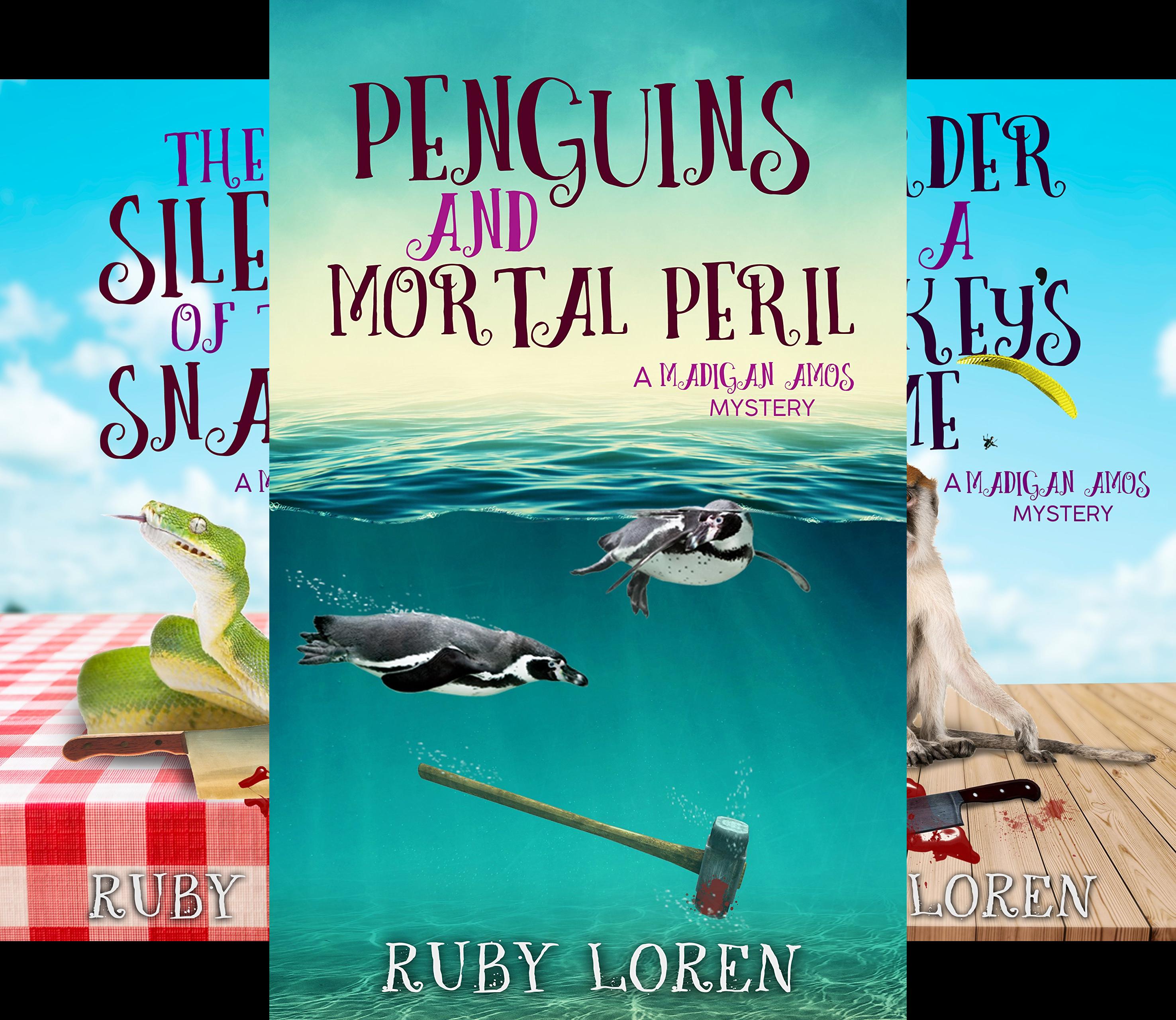 Madigan Amos Zoo Mysteries (4 Book Series)