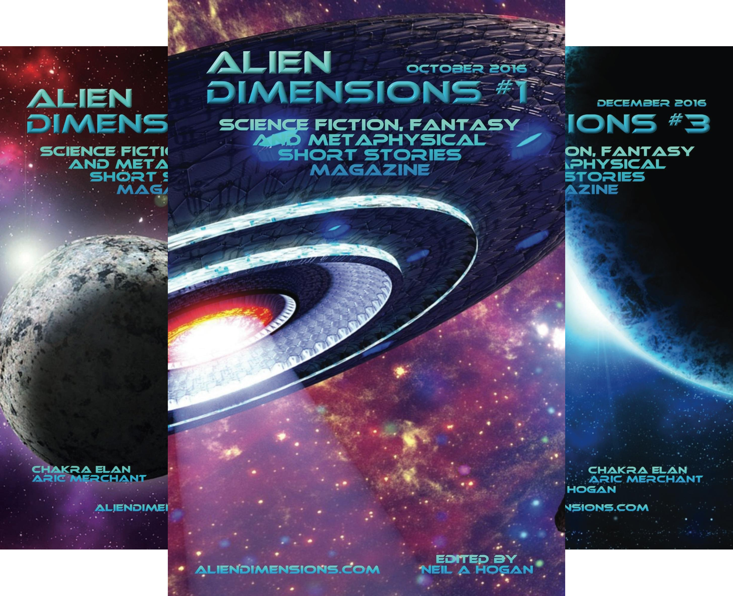 Alien Dimensions Magazine (7 Book Series)